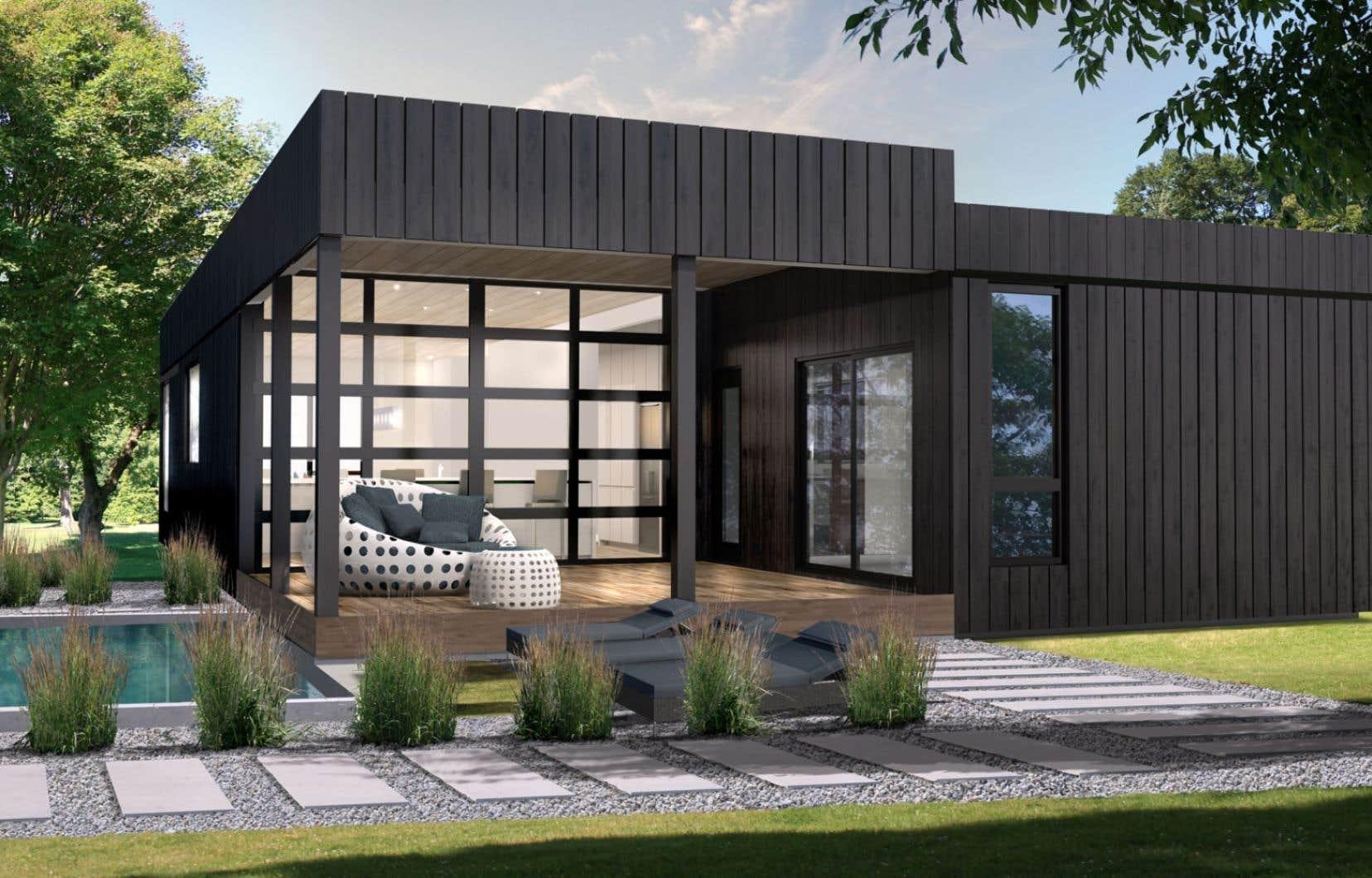 salon chalets et maisons de campagne deux salons pour le prix dun le devoir