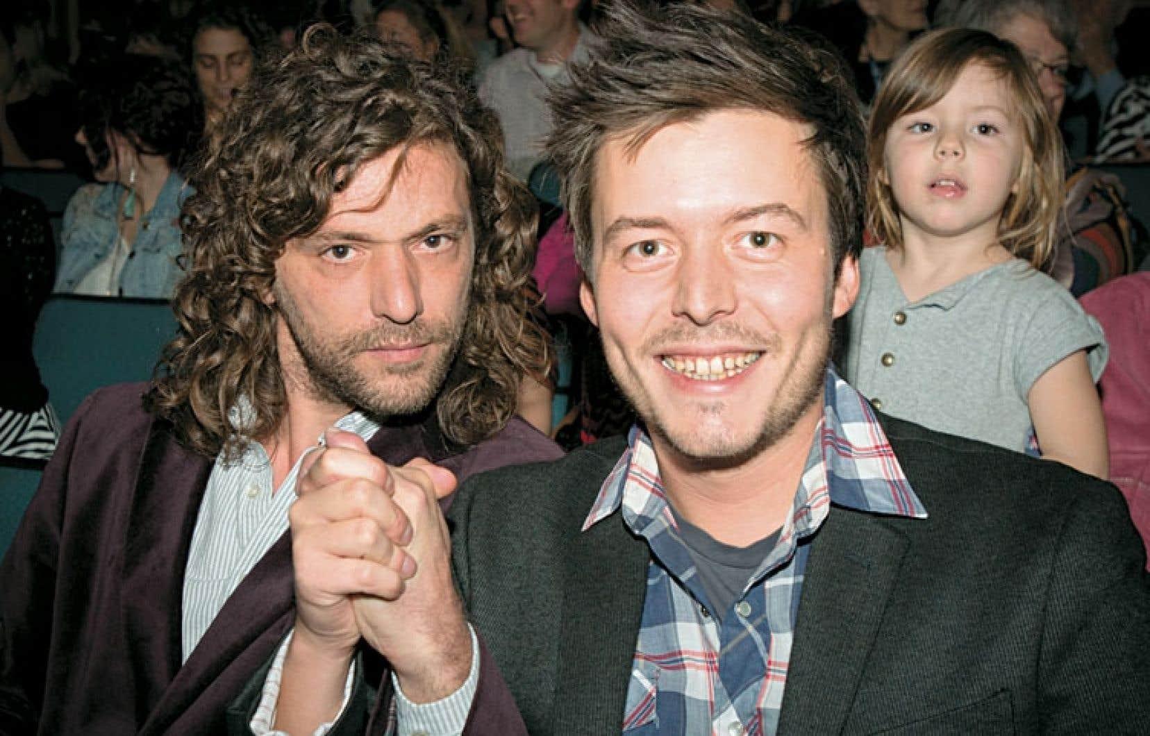 Tous deux basés à Rouyn-Noranda, dont ils sont originaires, le comédien Alexandre Castonguay (à gauche) et le réalisateur Dominic Leclerc se connaissent de longue date.