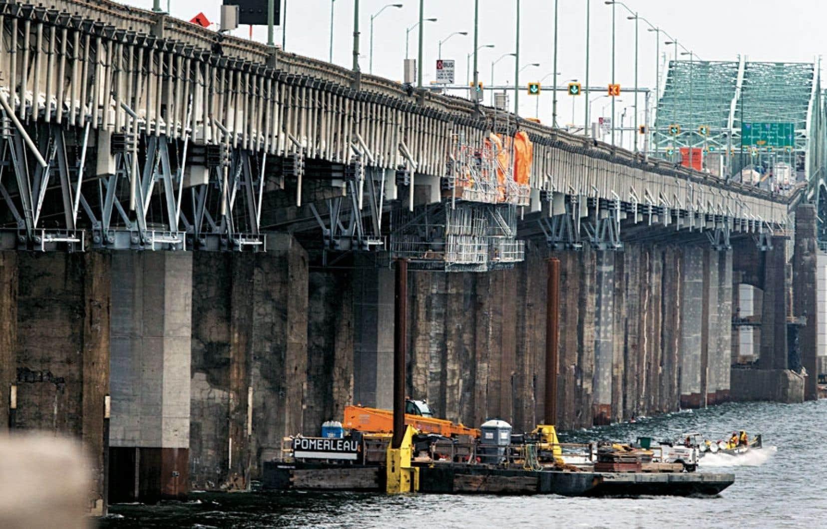 Le pont Champlain vieillit plus rapidement que prévu.