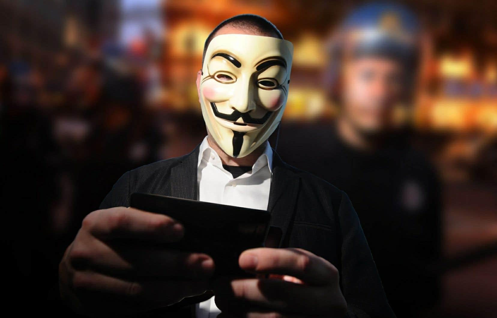 Le pirate informatique n'avait que 12 ans lorsqu'il a participé à la campagne «Opération Québec» qui avait été orchestrée par le groupe Anonymous, au printemps 2012.