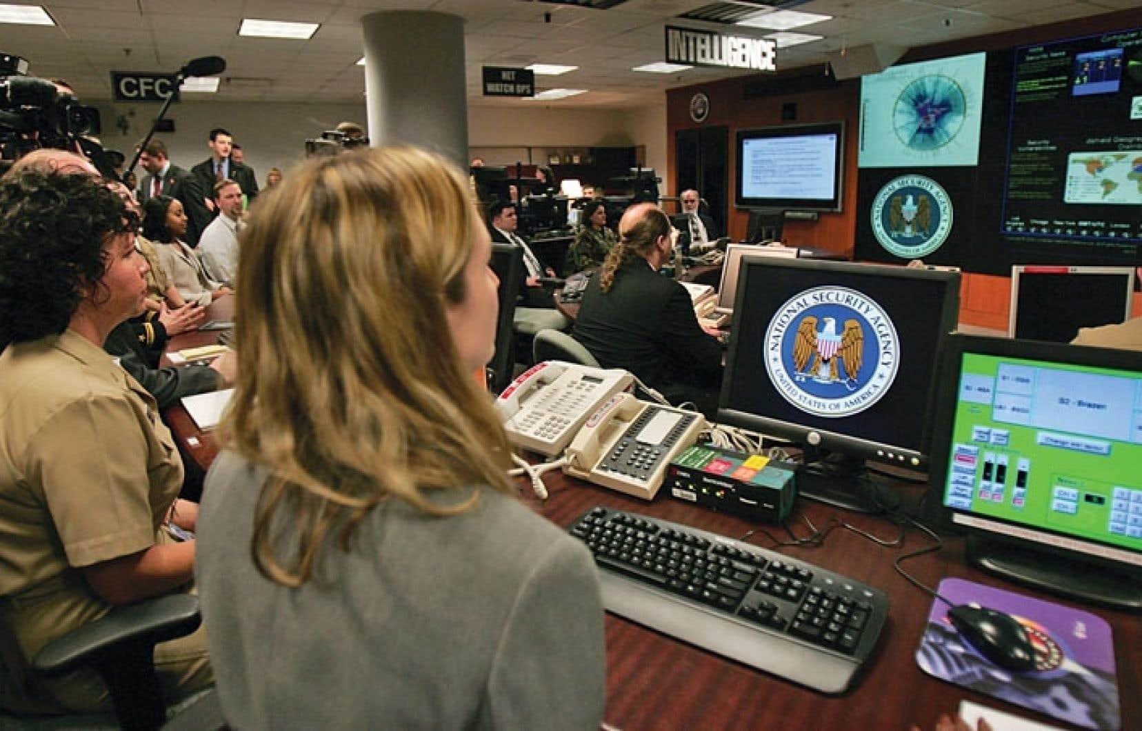 Le quartier général de la National Security Agency à Fort Mead, dans le Maryland.