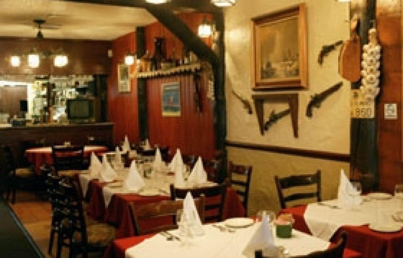 Aux portes de la Petite Italie, le restaurant Casa Cacciatore n'a rien changé, ou si peu, depuis une trentaine d'années.