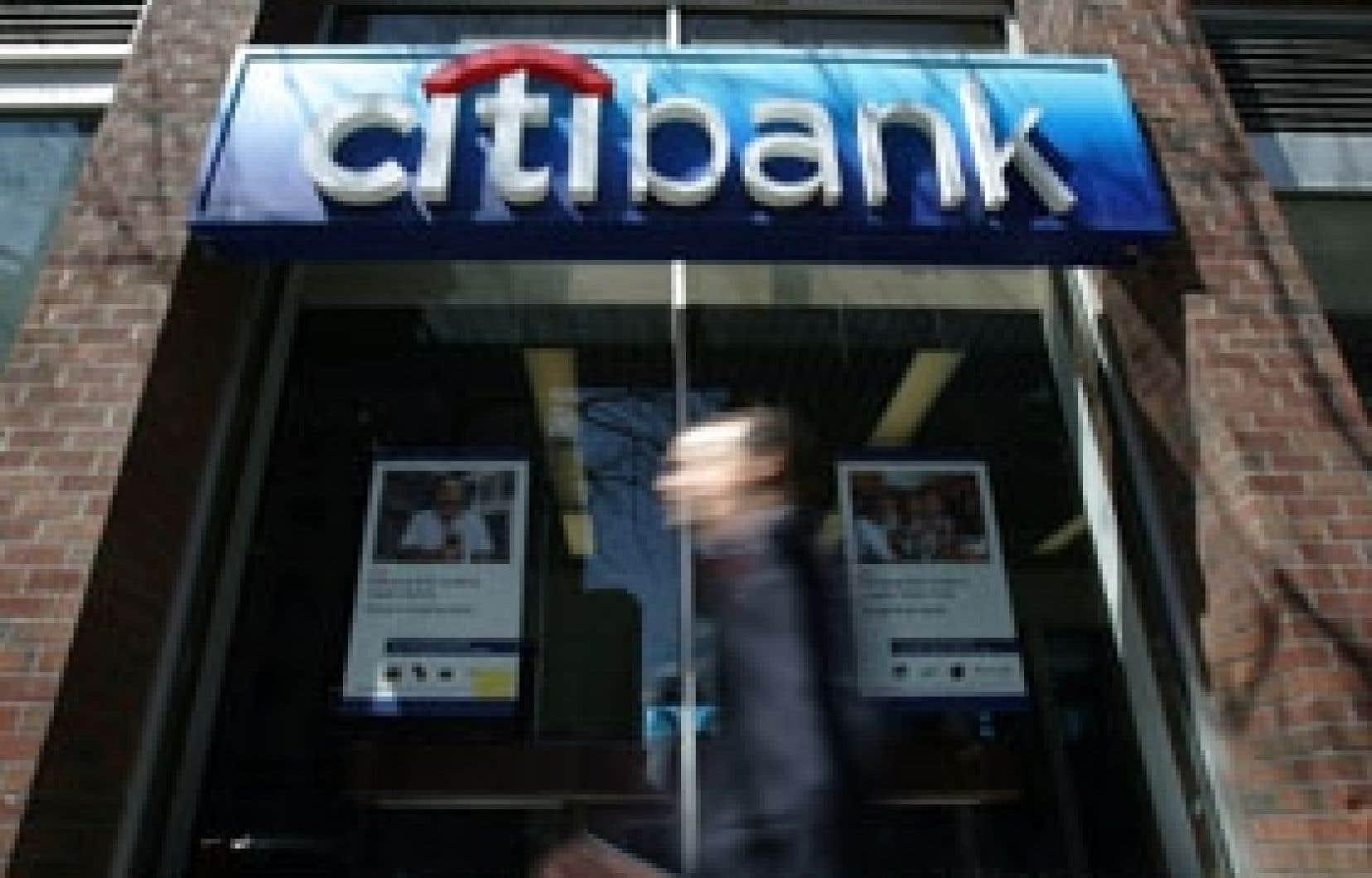 Les divisions services bancaires aux particuliers et banque d'investissement de Citigroup devraient être les plus touchées par la réorganisation.