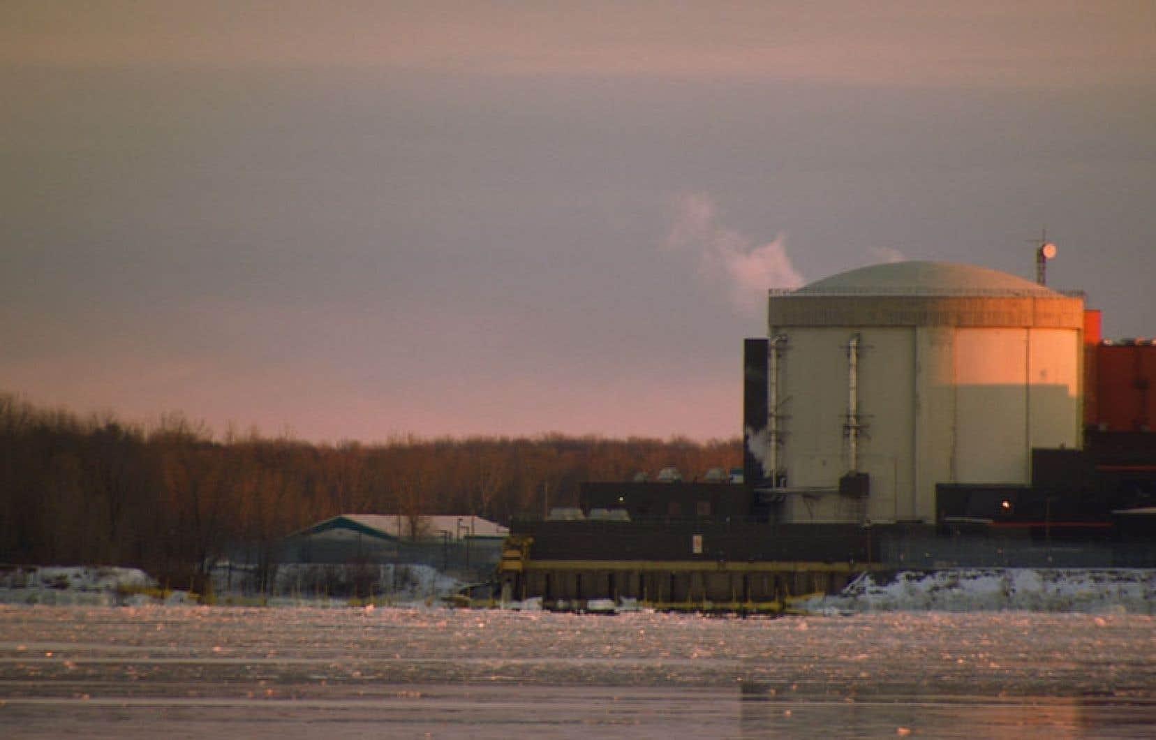 En mai 2012, bien avant que le gouvernement Marois n'annonce la fin officielle de la centrale nucléaire Gentilly-2.