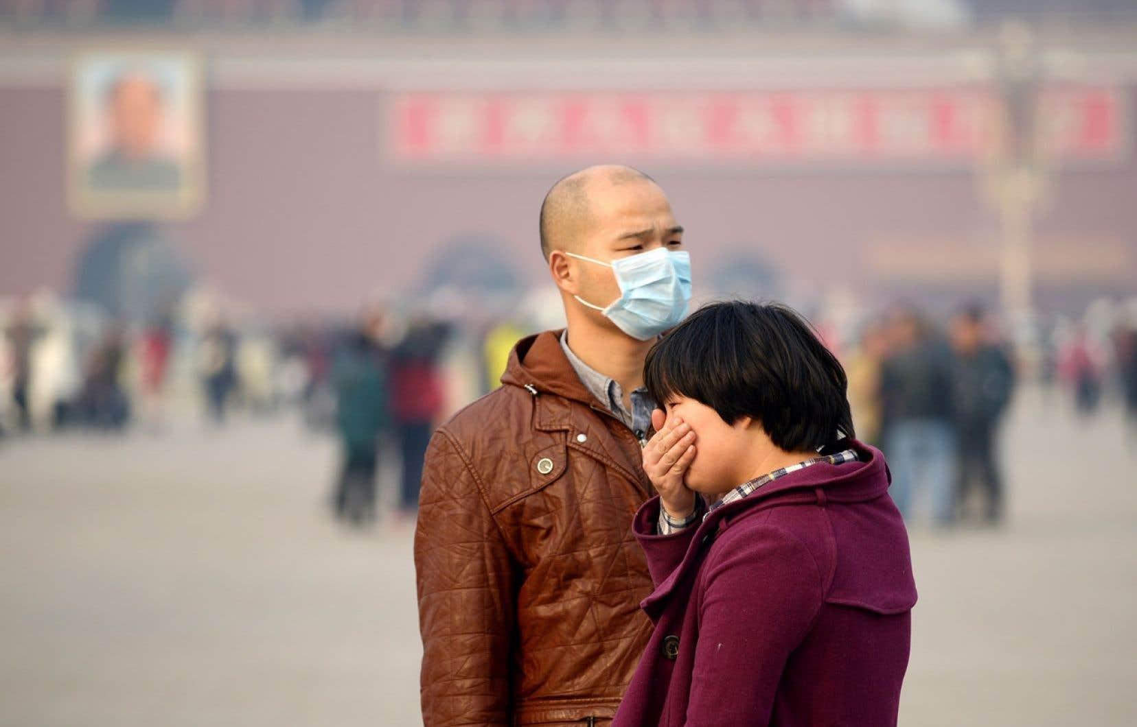 La Chine est responsable de 8% des bouleversements climatiques. Les épisodes prolongés de smog urbain y sont fréquents.