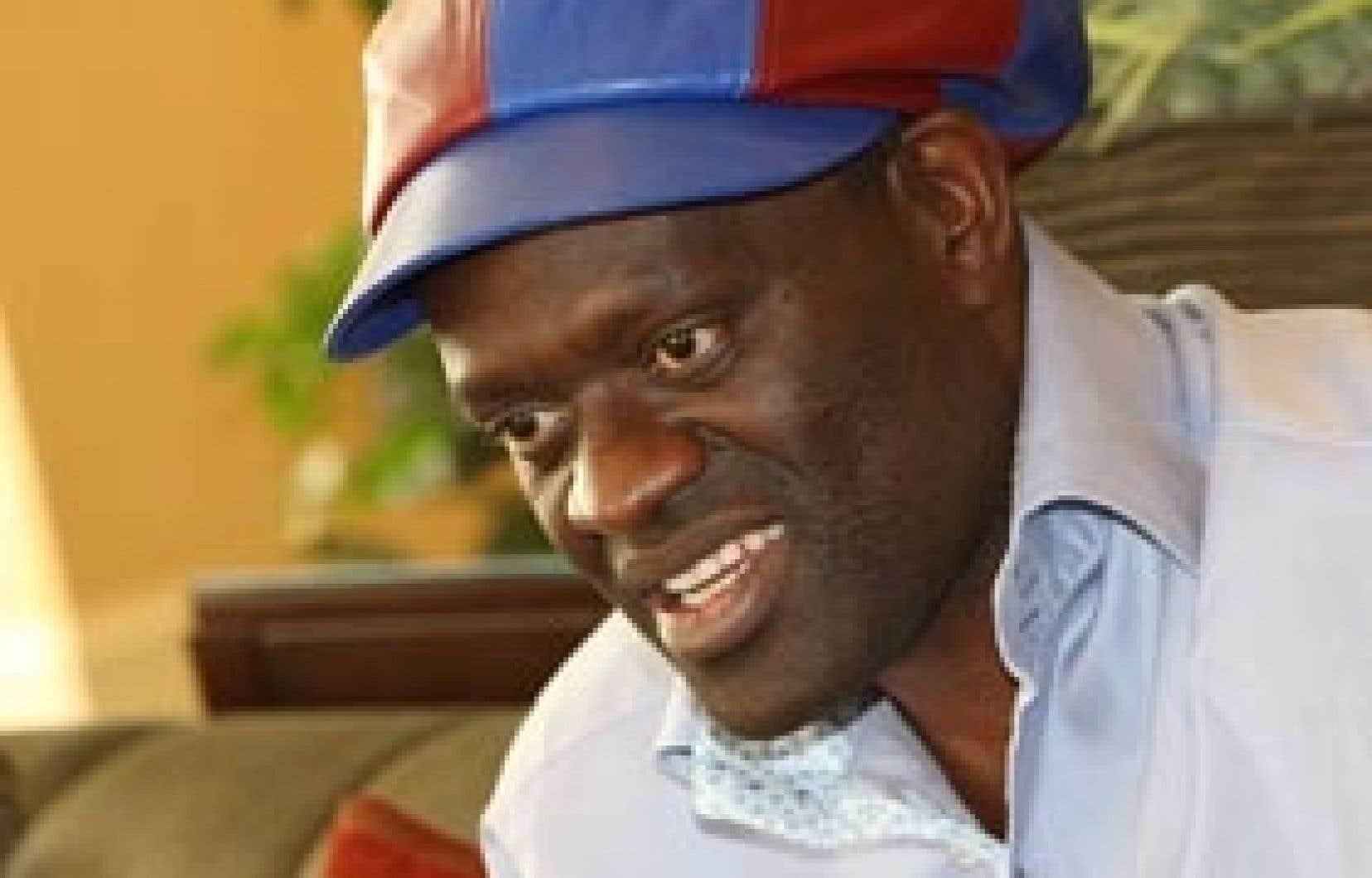 Le romancier d'origine congolaise Alain Mabanckou
