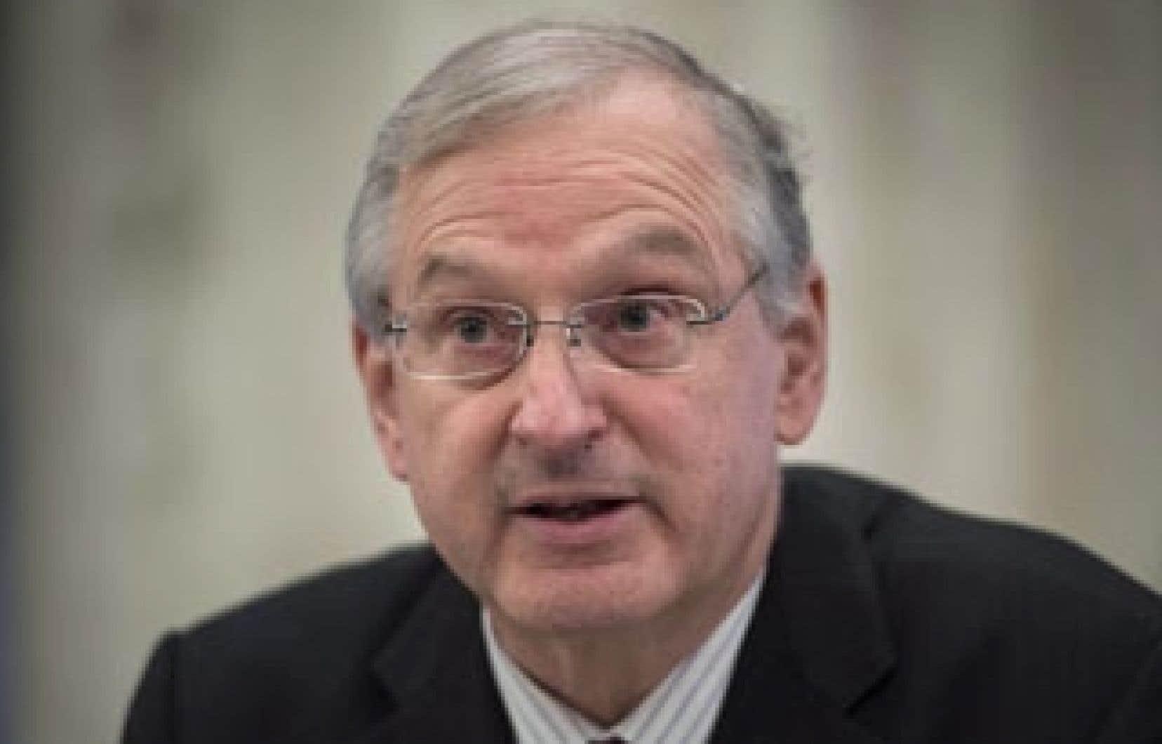 Le président de la Commission des droits de la personne et des droits de la jeunesse du Québec, Jacques Frémont