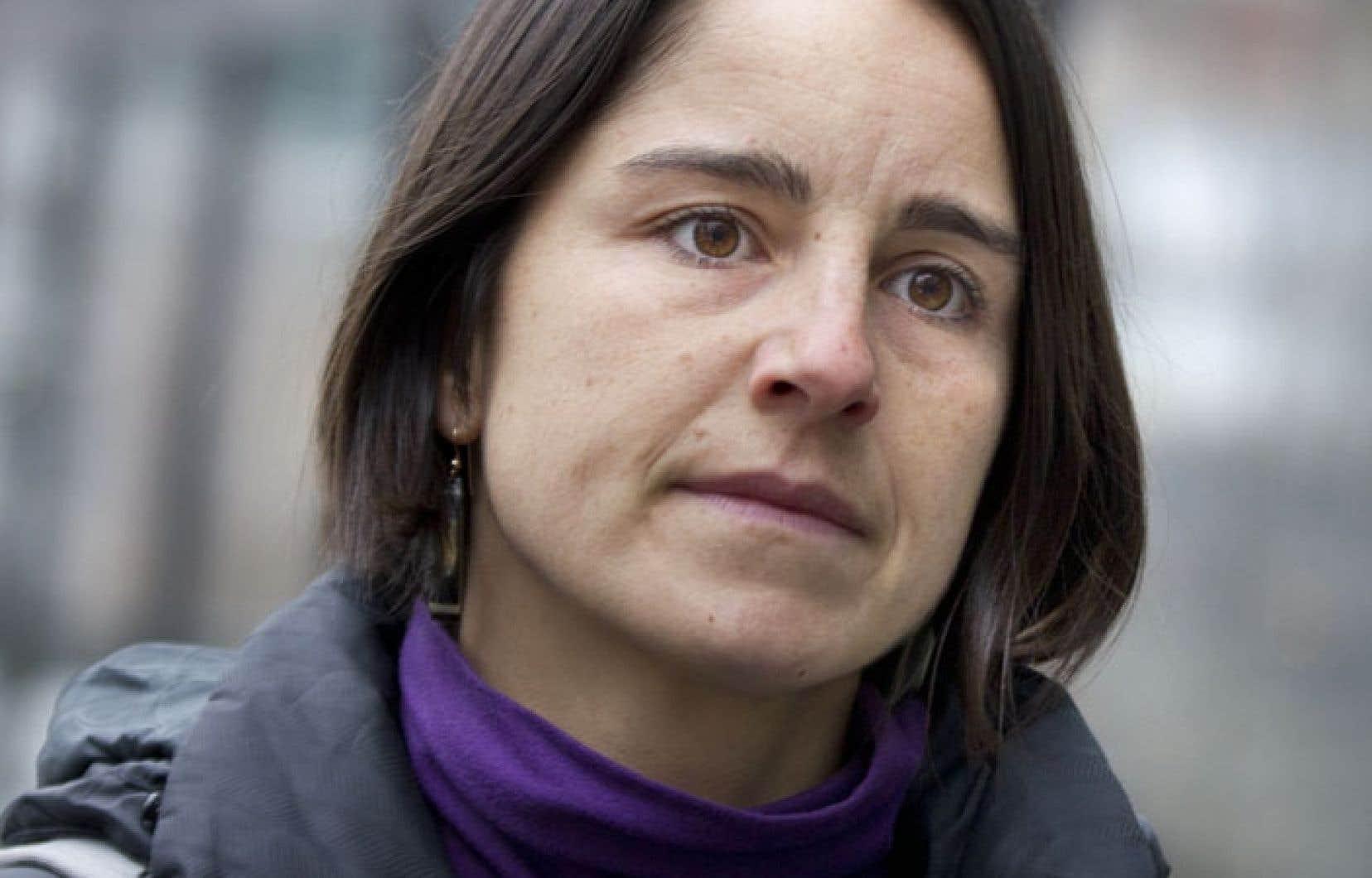 Marilaine Savard, cofondatrice d'un comité de citoyens de la région de Lac-Mégantic