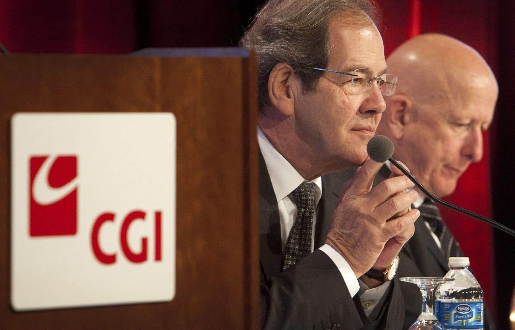Serge Godin, fondateur et président exécutif de CGI, et Michael Roach, président et chef de la direction, croient que l'entreprise ne souffrira pas de la mauvaise publicité faite autour des difficultés de mise en œuvre du site Healthcare.gov.