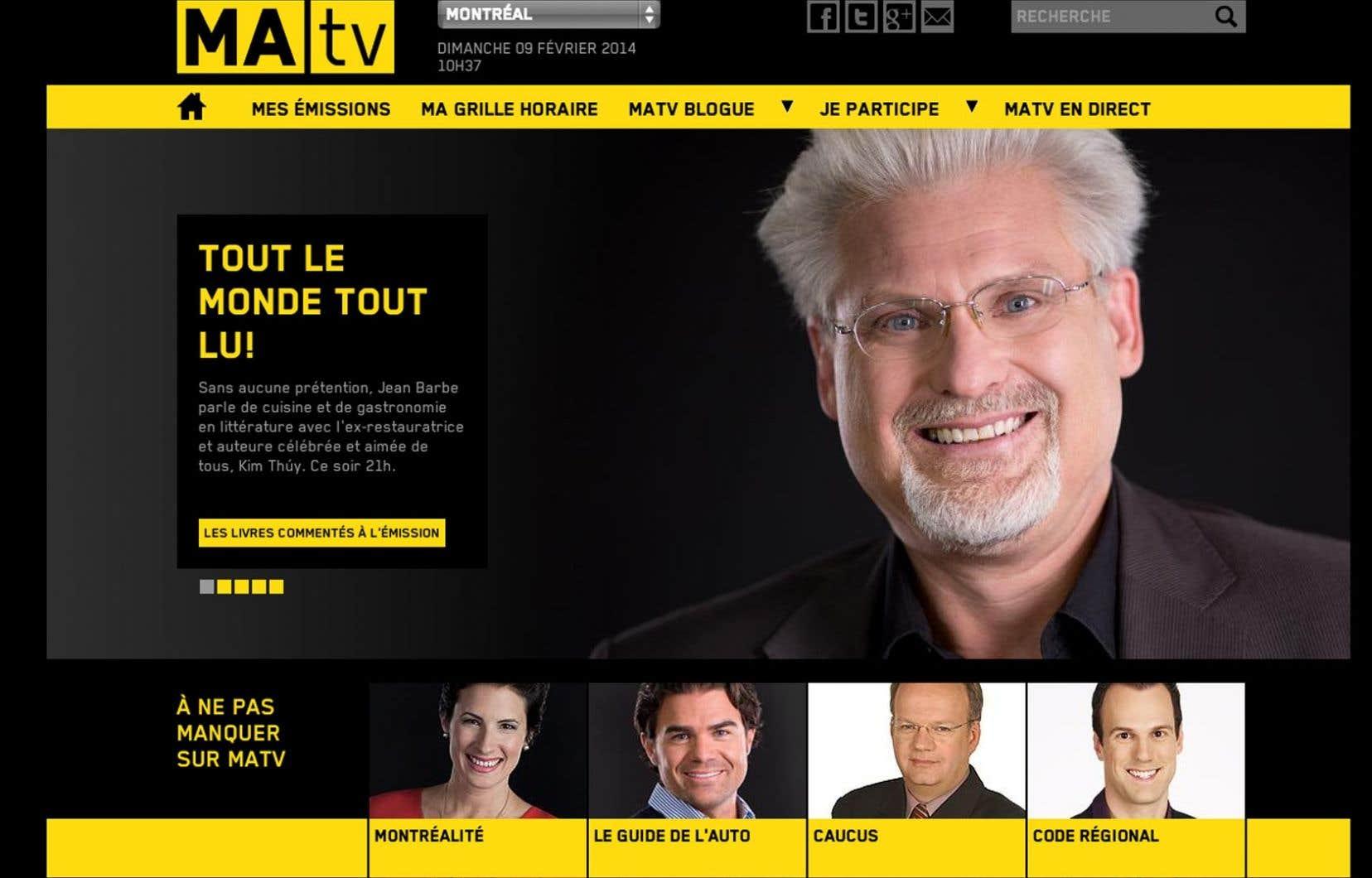 MAtv, la chaîne communautaire francophone de Montréal financée par Vidéotron