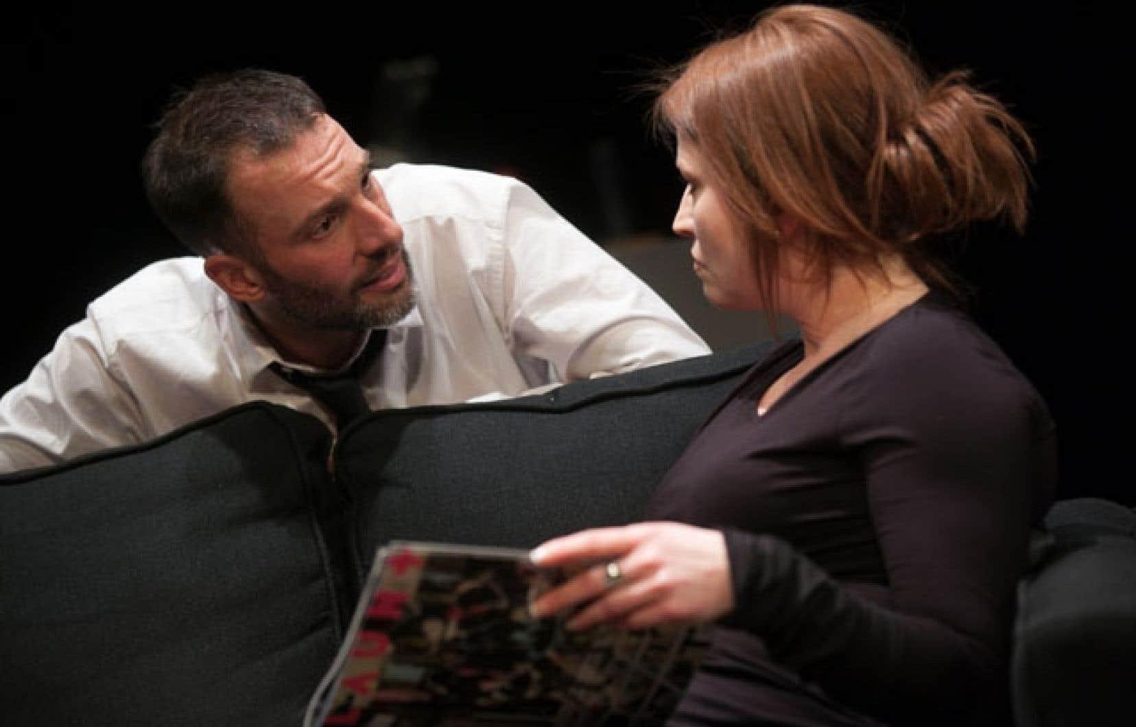 Christian Michaud et Sophie Dion sont ici dans un duel-duo d'acteurs exigeant.
