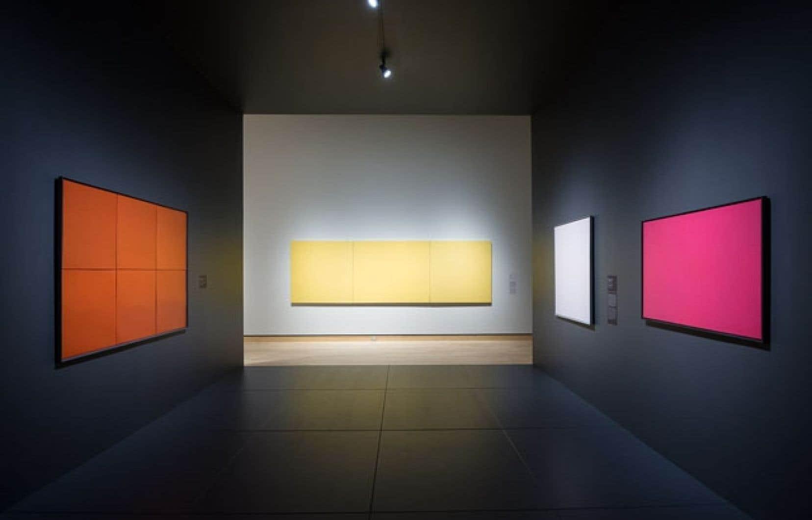 Alfred Pellan, Jean-Paul Riopelle, Jean Paul Lemieux et Fernand Leduc feront tous l'objet d'une exposition individuelle dans le pavillon Charles-Baillairgé du MNBAQ.