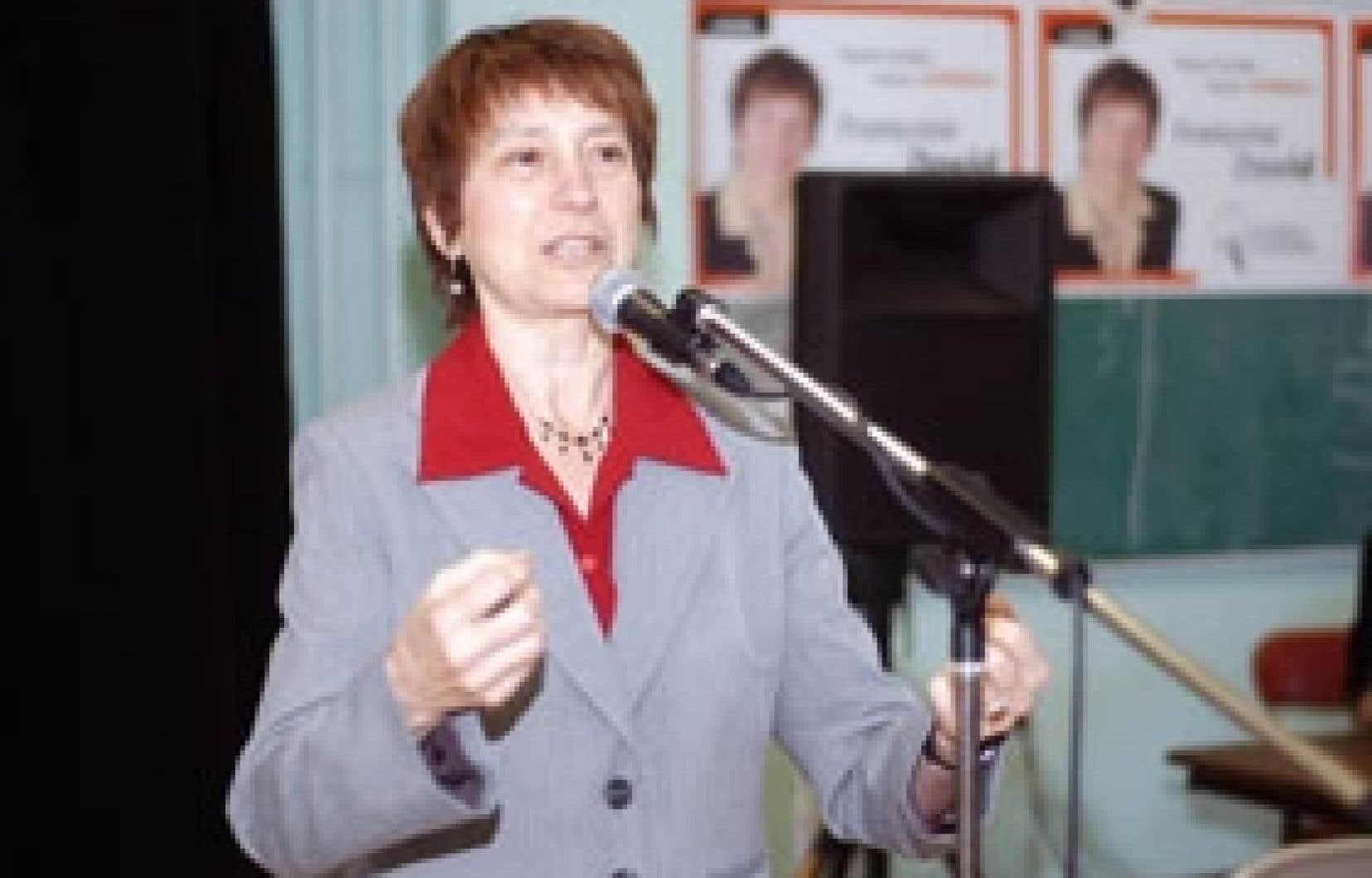 Plus de 200 personnes ont participé hier à l'assemblée organisée dans une école de Gouin pour le lancement officiel de la campagne de Françoise David, de Québec solidaire.