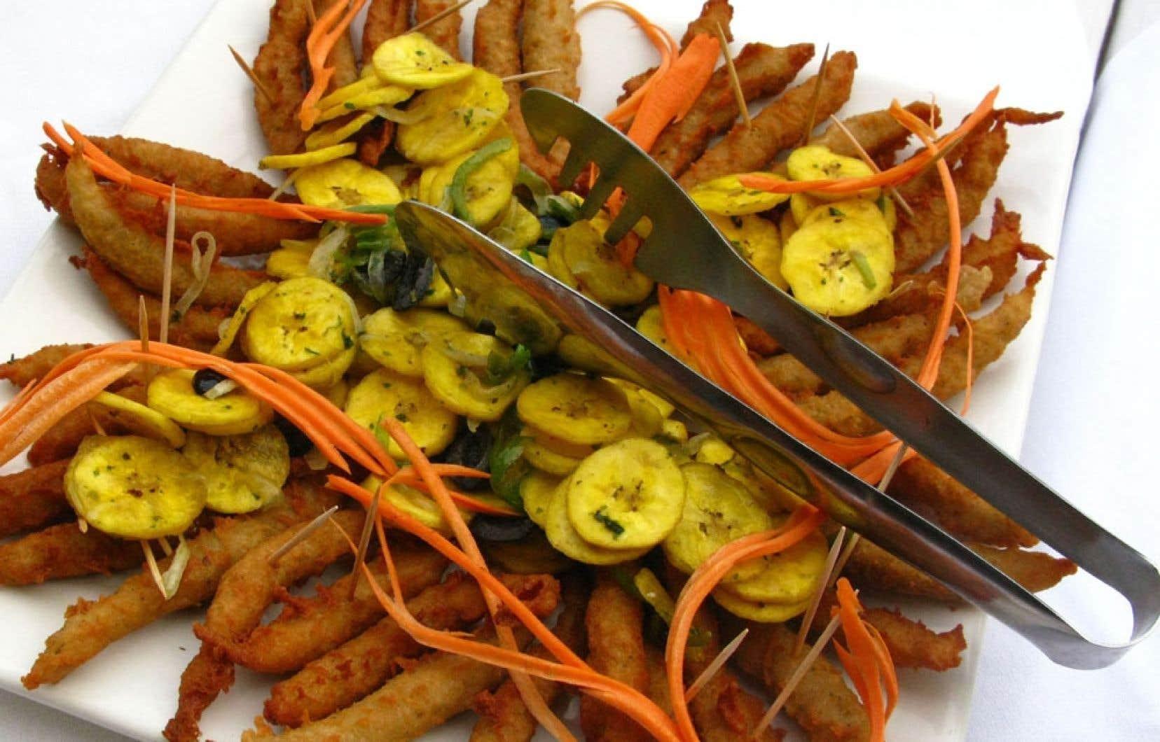La banane plantain est très présente dans la cuisine créole.