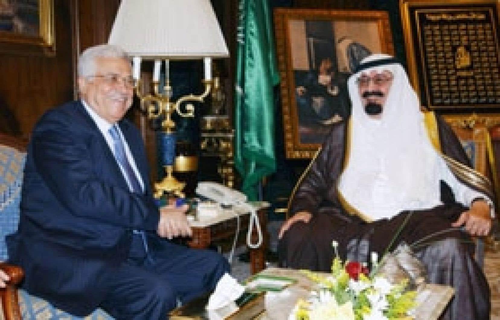 Mahmoud Abbas a rencontré hier le roi Abdallah.