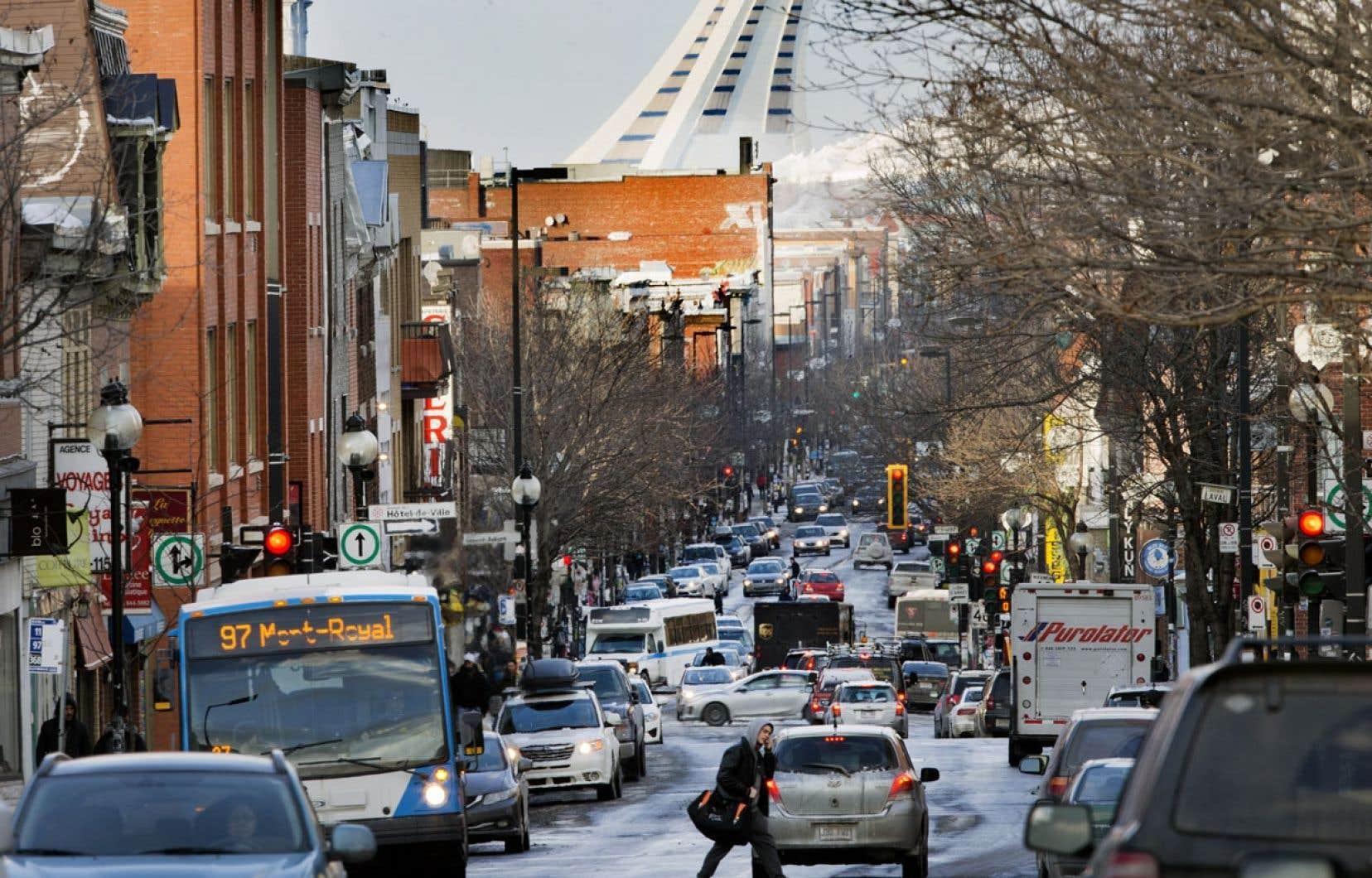 Le développement se stabilise sur l'avenue du Mont-Royal après trente ans de développement fulgurant.