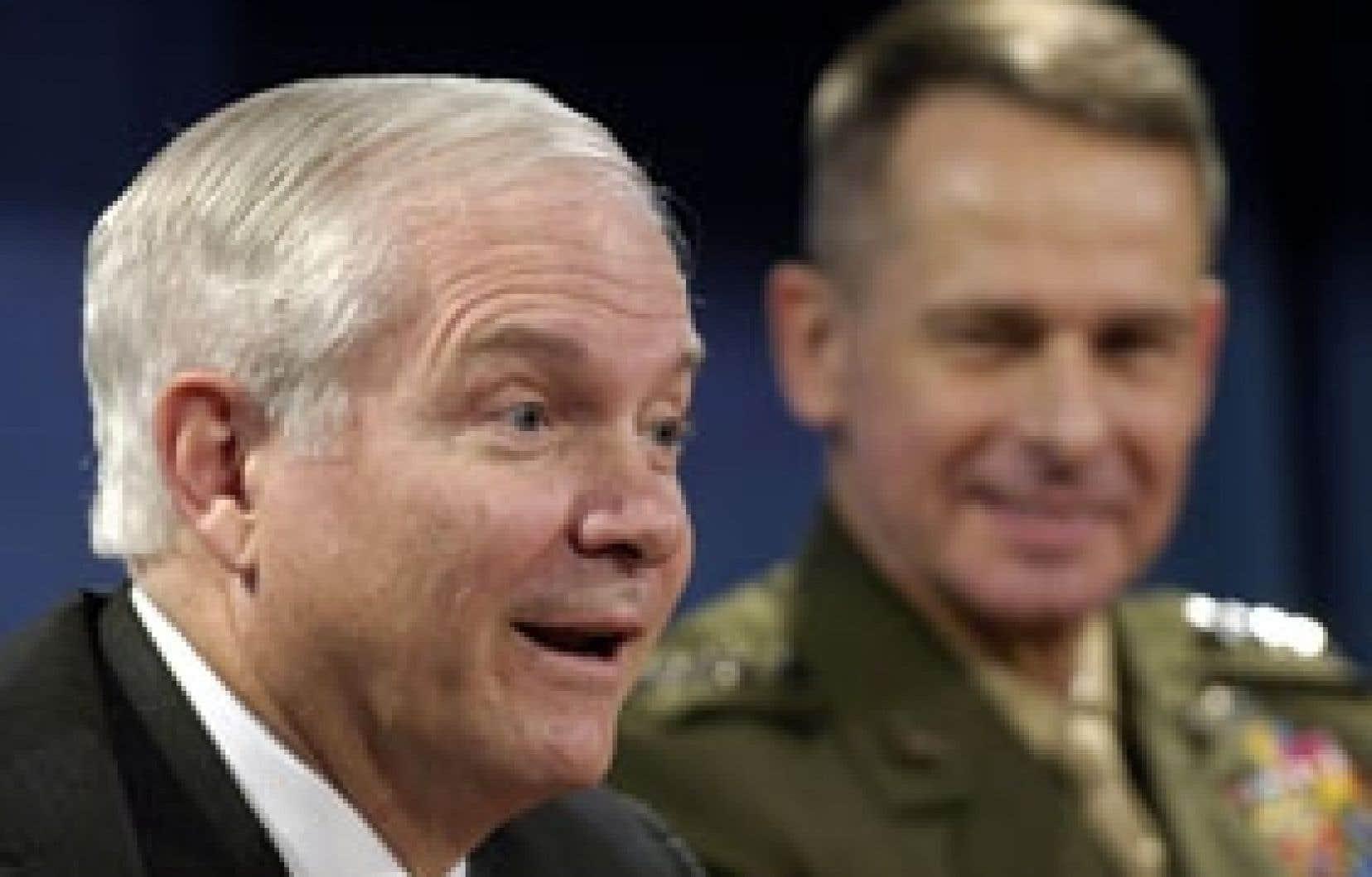 Le secrétaire américain à la Défense, Robert Gates, rejette la notion de «guerre civile».