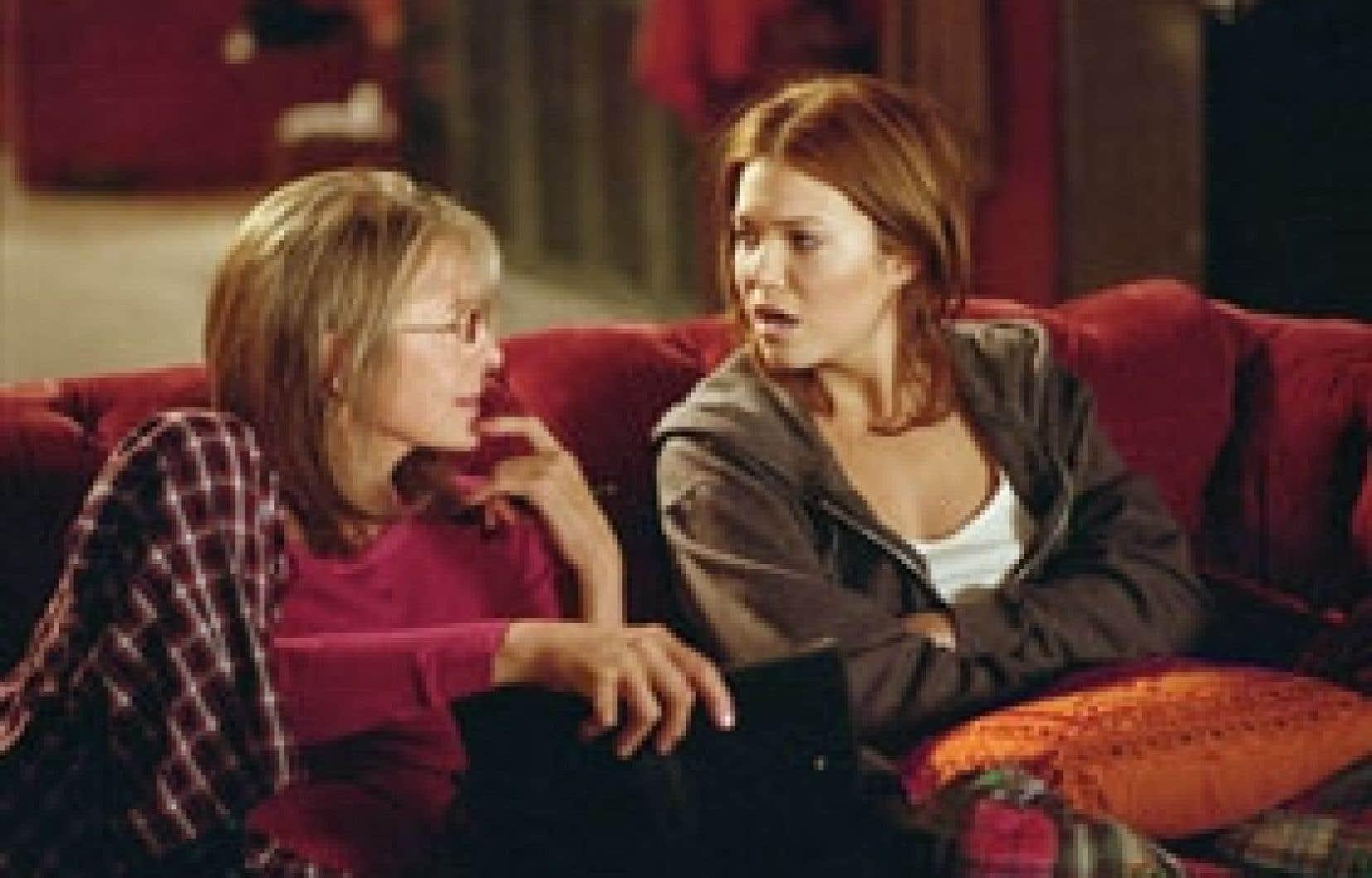 Dans Because I Said So, Daphne (Diane Keaton) rêve d'un bon parti pour sa fille Milly (Mandy Moore).