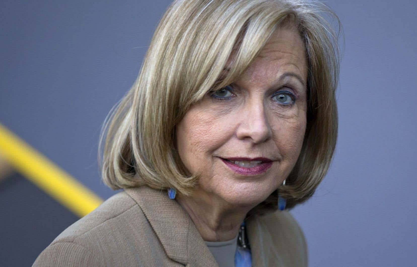 Monique Jérôme-Forget, ex-ministre des Finances et ex-présidente du Conseil du trésor