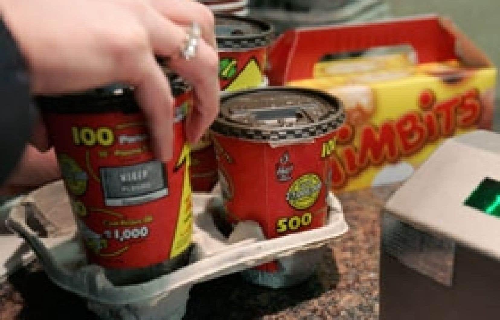 Les ventes des établissements de Tim Hortons comparables ont augmenté de 7,5 % au Canada et de 8,9 % aux États-Unis.