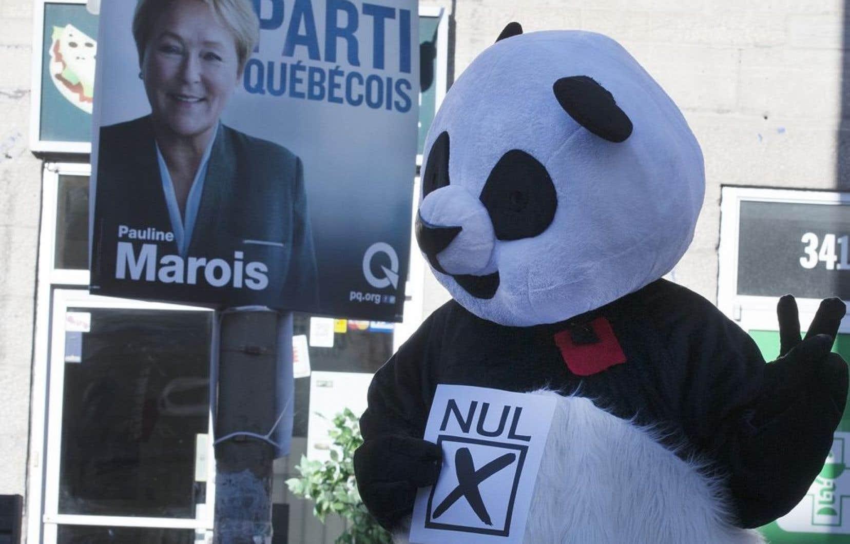 Avec 41 candidats enregistrés auprès du Directeur général des élections en date de dimanche, plus du tiers des circonscriptions québécoises auront leur candidat « nul » le 7 avril, se félicite le fondateur du parti, « l'anti-chef » Renaud Blais.