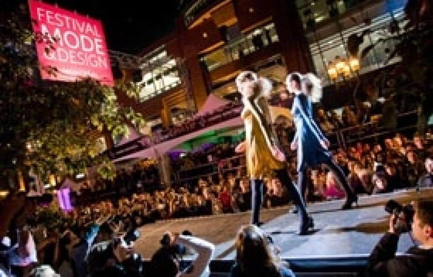 «J'ai fait beaucoup de recherches et je peux dire que le Festival Mode et Design Montréal est unique au monde, dit Chantal Durivage. Un événement extérieur présentant 150 collections au grand public, ça n'existe nulle part ailleurs.»