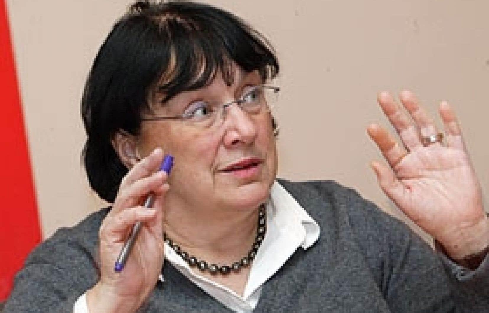 Michèle Fortin, p.-d.g. de Télé-Québec, a commandé une analyse des chiffres de la firme de sondage BBM pour tenter d'y voir clair.