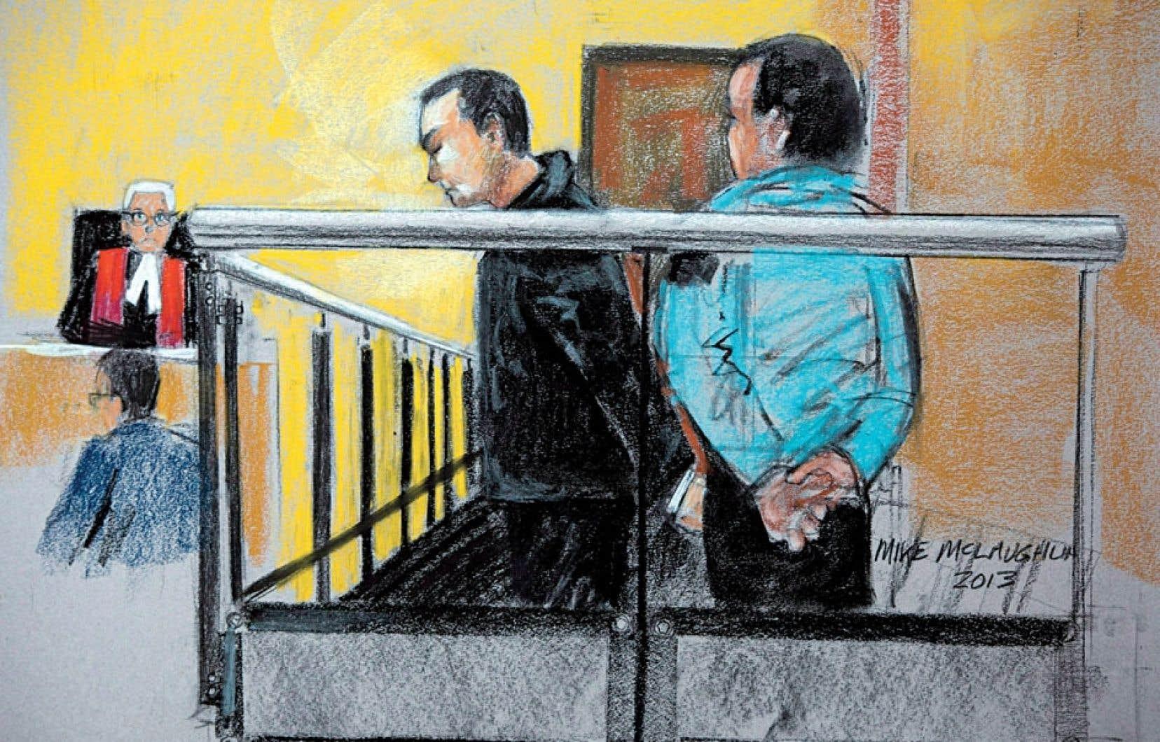 Guy Turcotte, de nouveau accusé du meurtre au premier degré de ses deux enfants, Olivier et Anne-Sophie, avait brièvement comparu en cour en novembre dernier au palais de justice de Saint-Jérôme.
