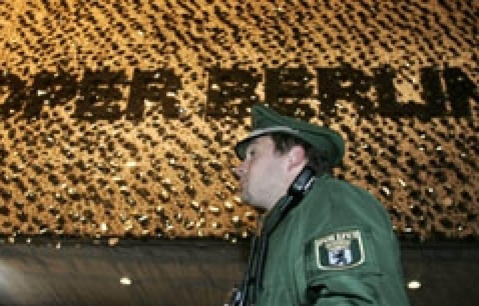 Le Deutsche Oper a été placé sous étroite surveillance policière hier.
