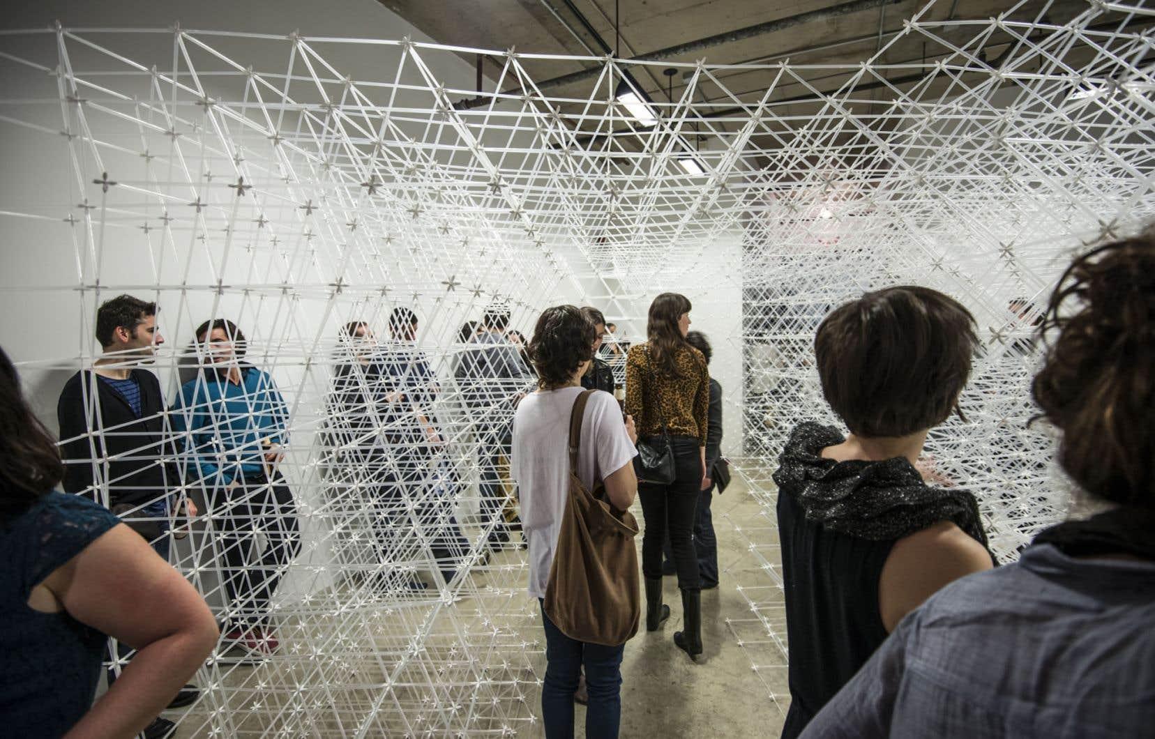 Exposition de Patrick Martinez dans le cadre de Montréal-Brooklyn, 2012.