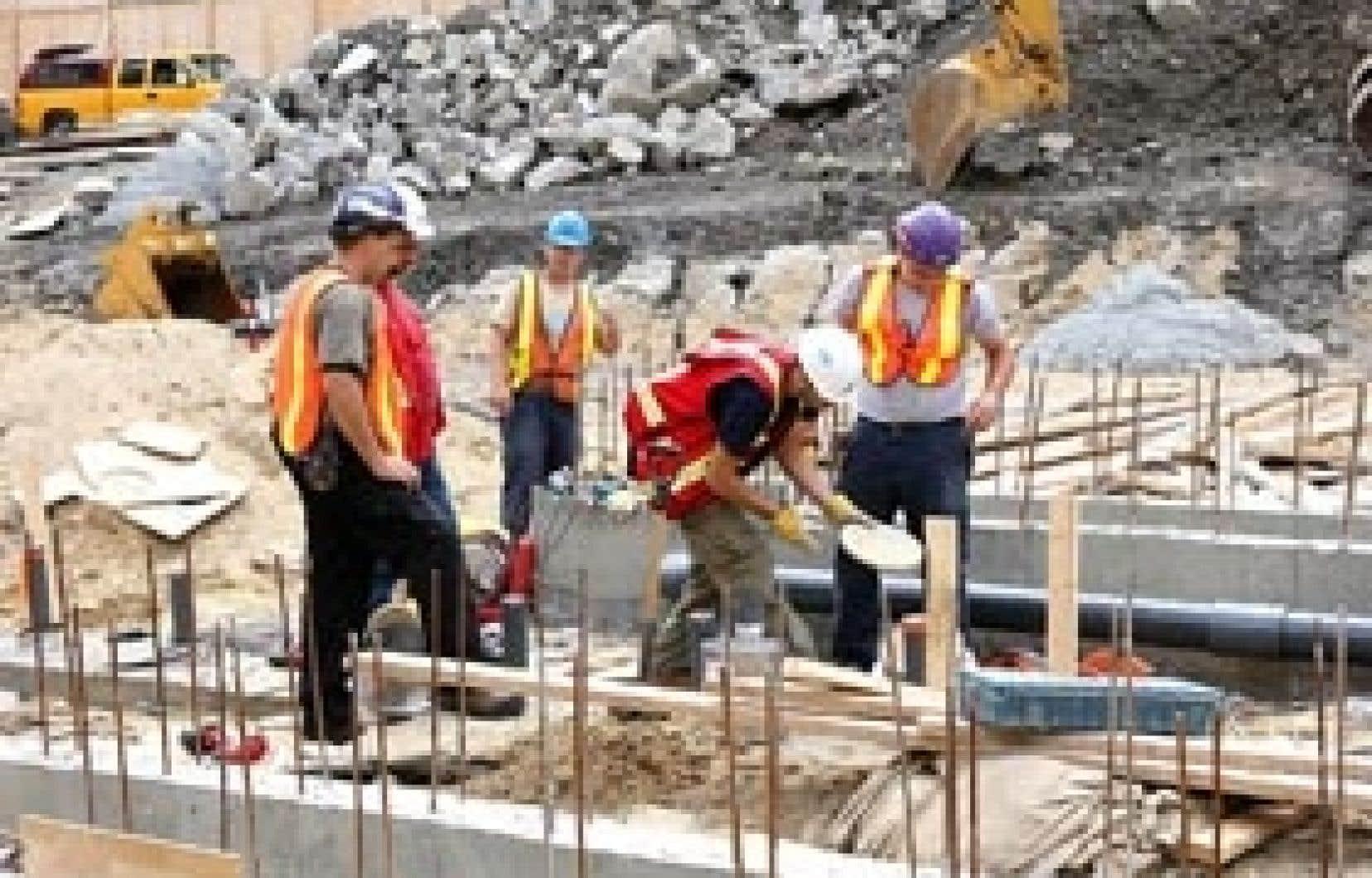 Peu de travailleurs de la construction sont allés voter pour déterminer le taux de représentativité de leurs associations syndicales.