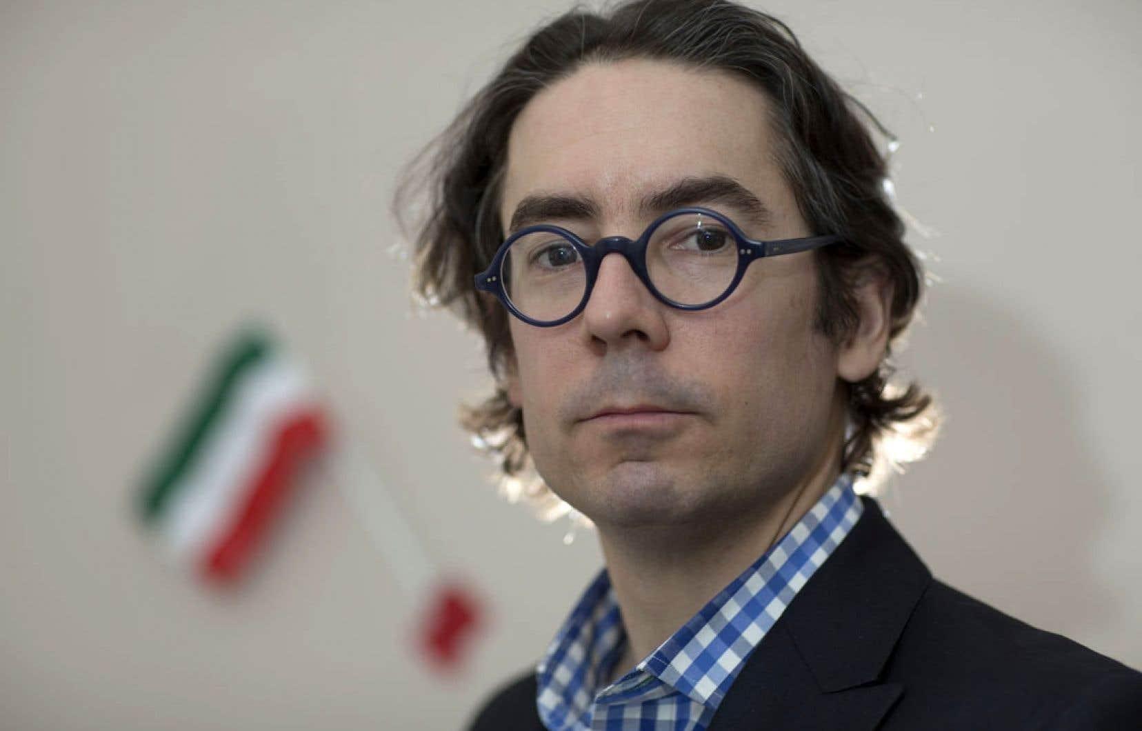 Le philosophe et politologue Danic Parenteau est l'auteur de Précis républicain à l'usage des Québécois.