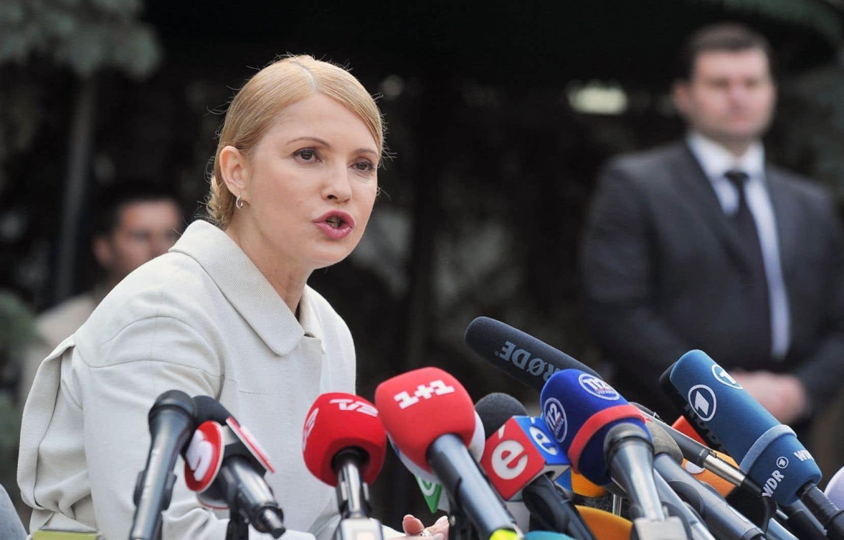 Selon un sondage publié mercredi, Ioulia Timochenko est créditée de 8,2% des intentions de vote.