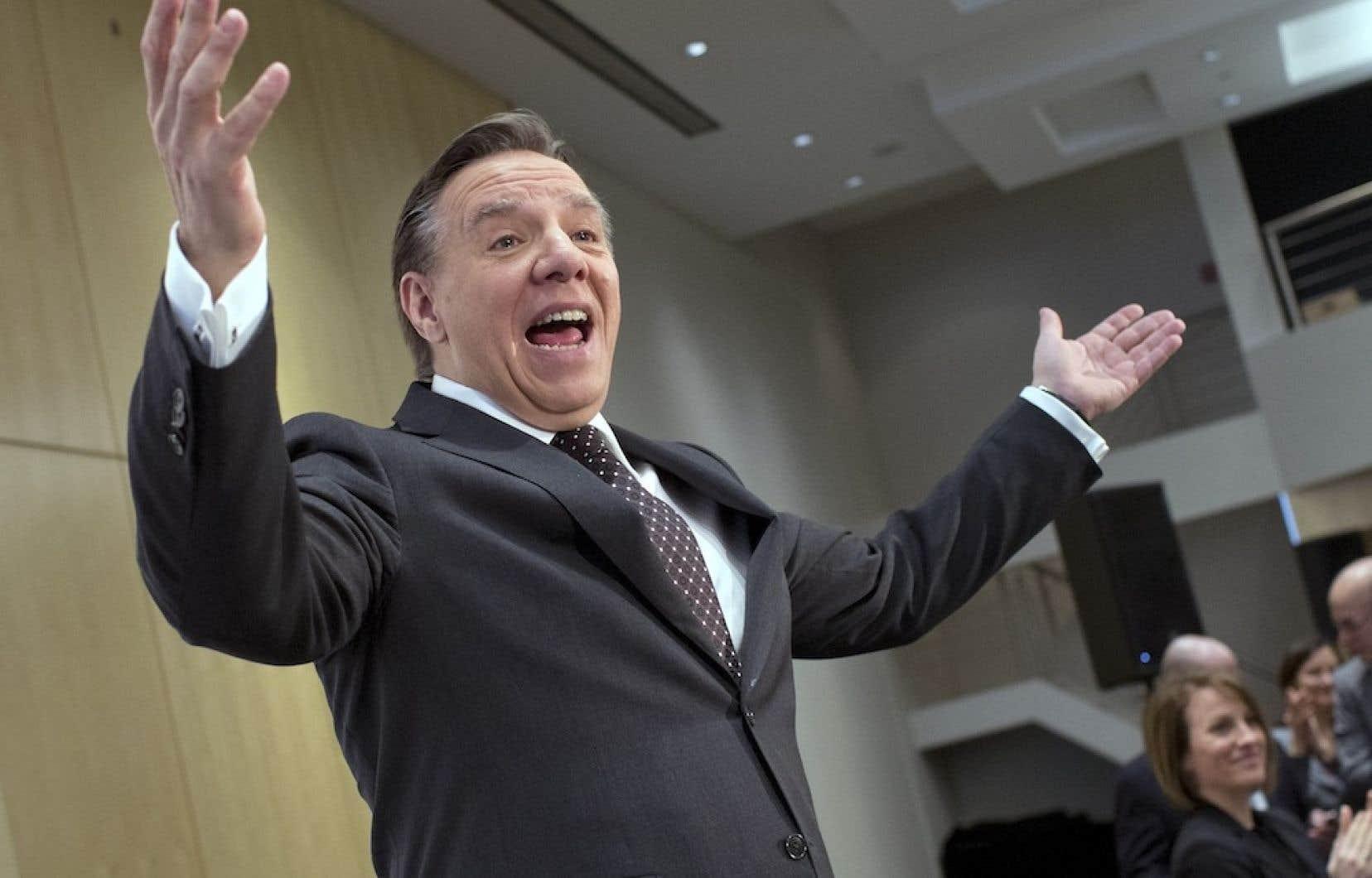Fran ois legault est plus optimiste qu 39 il ne l 39 tait le for Chambre commerce montreal