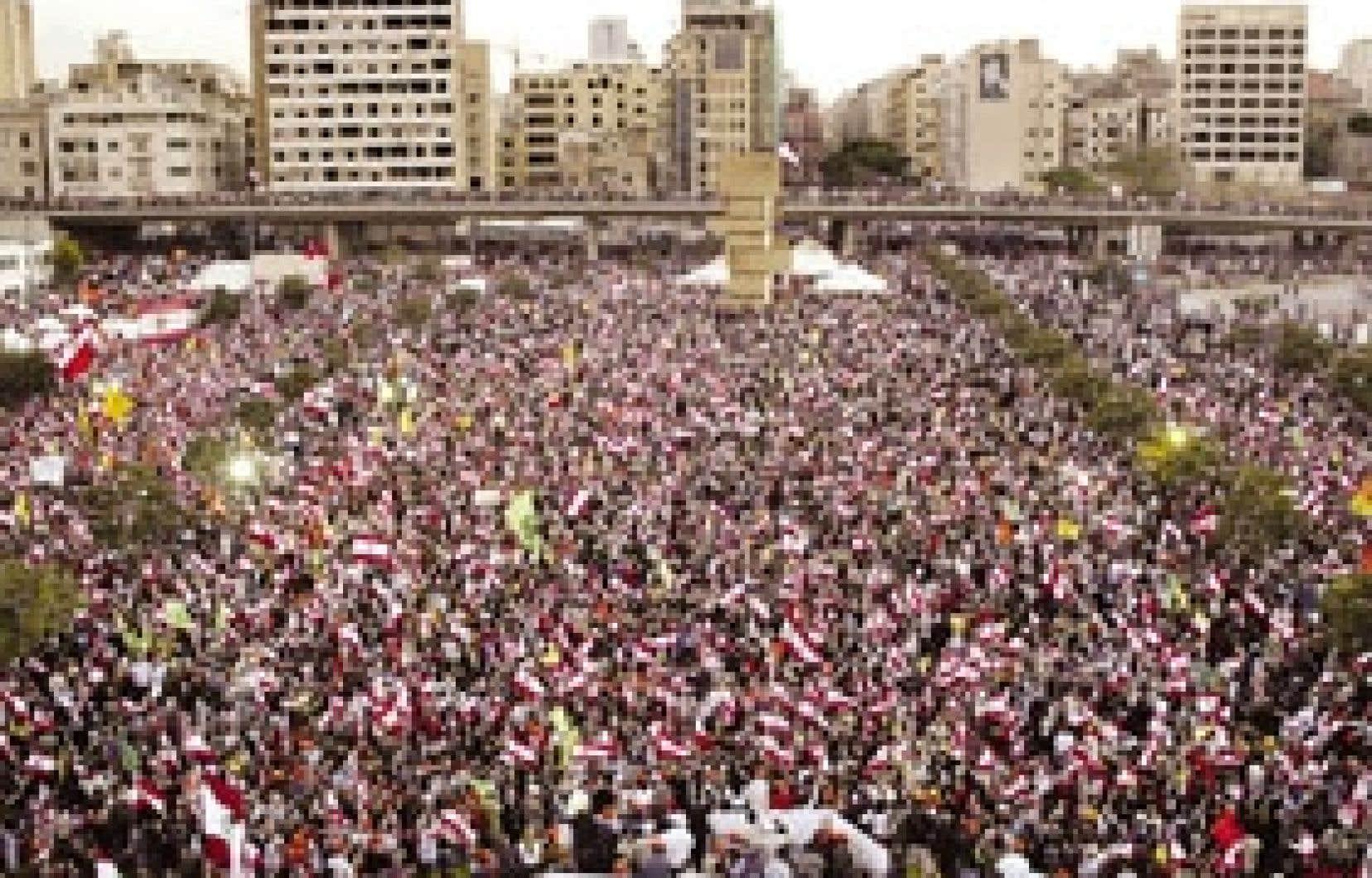 Le ralliement de plusieurs centaines de milliers de personnes s'est déroulé sans incident.