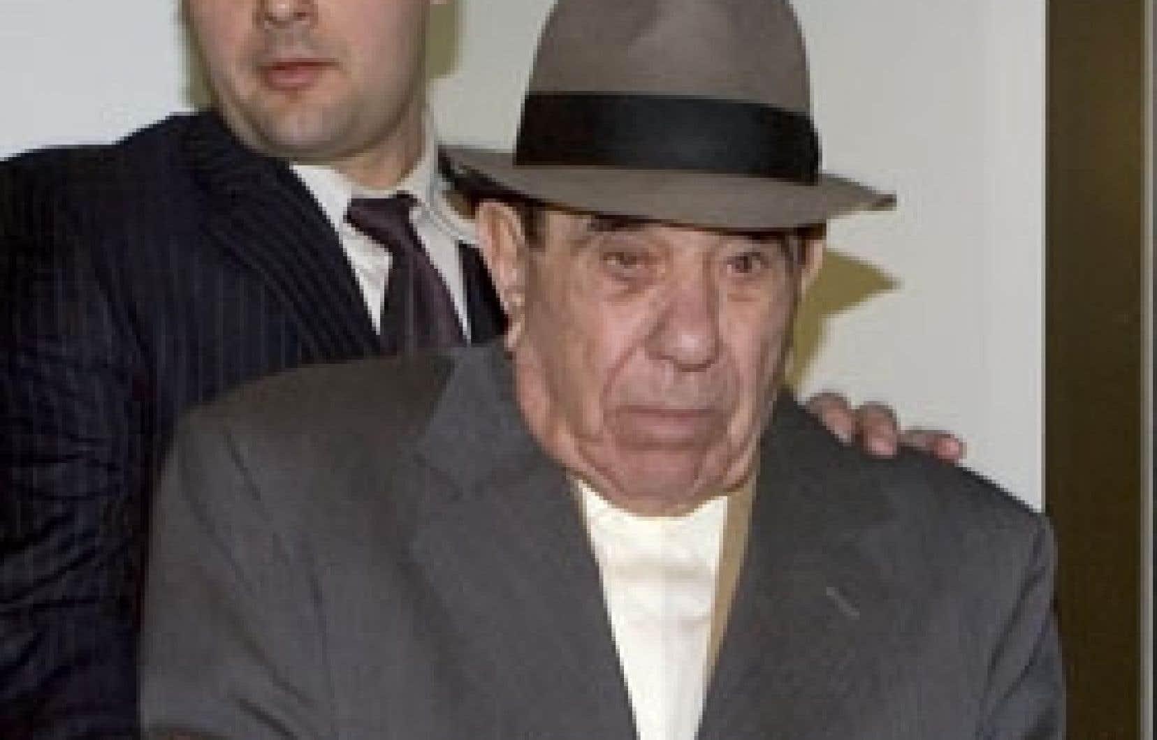 Nicolo Rizzuto a été transféré hier soir du quartier général de la GRC à la prison de Bordeaux.