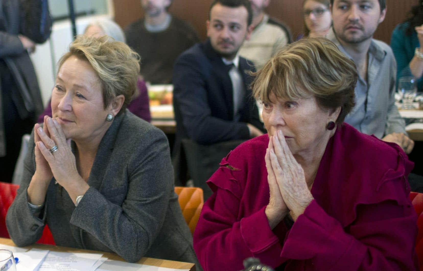 L'arrivée de Janette Bertrand dans la campagne du PQ n'a pas eu le meilleur effet.