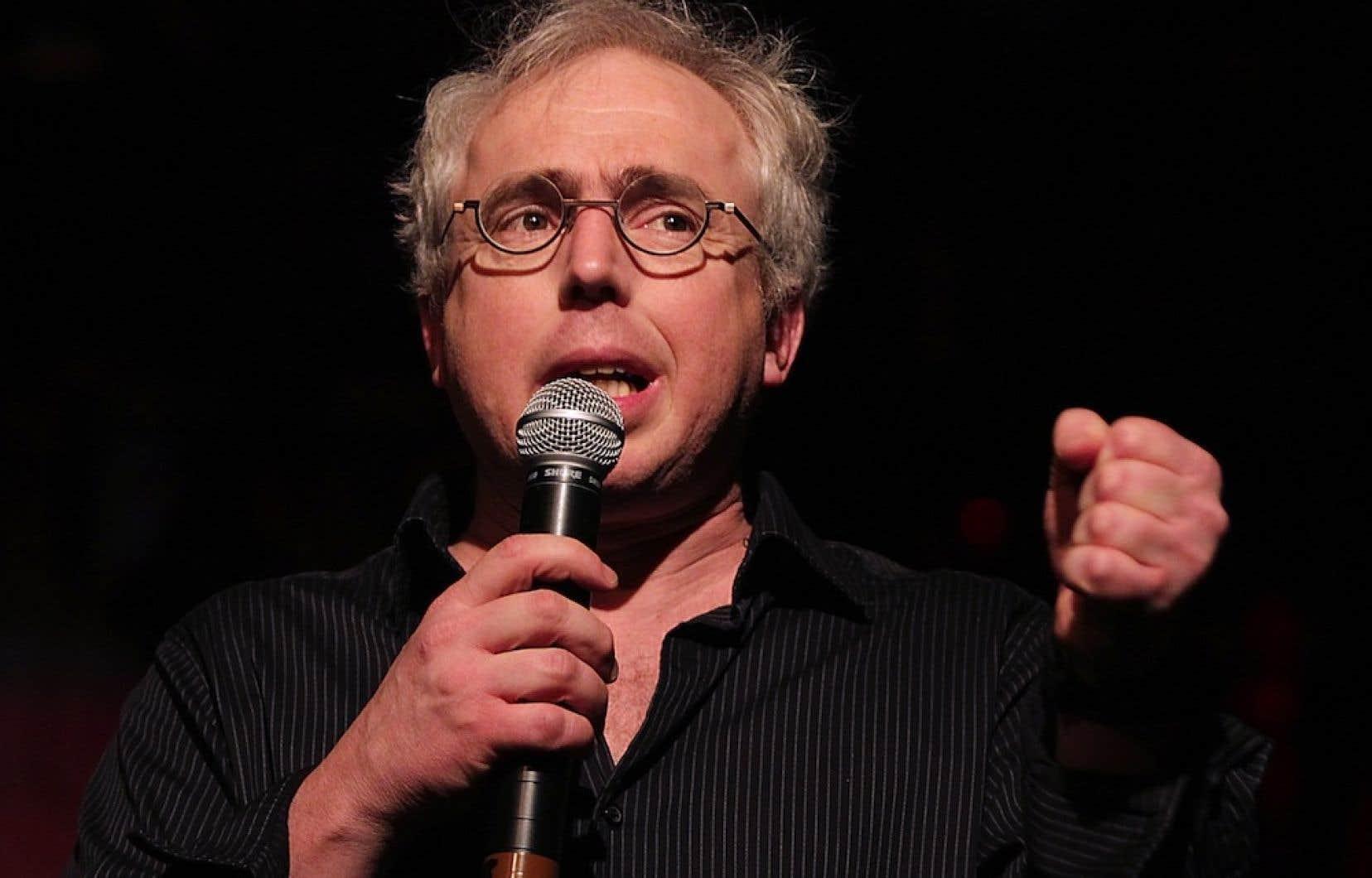 L'alarme a été sonnée par l'acteur Denis Trudel, porte-parole du Mouvement Montréal français.