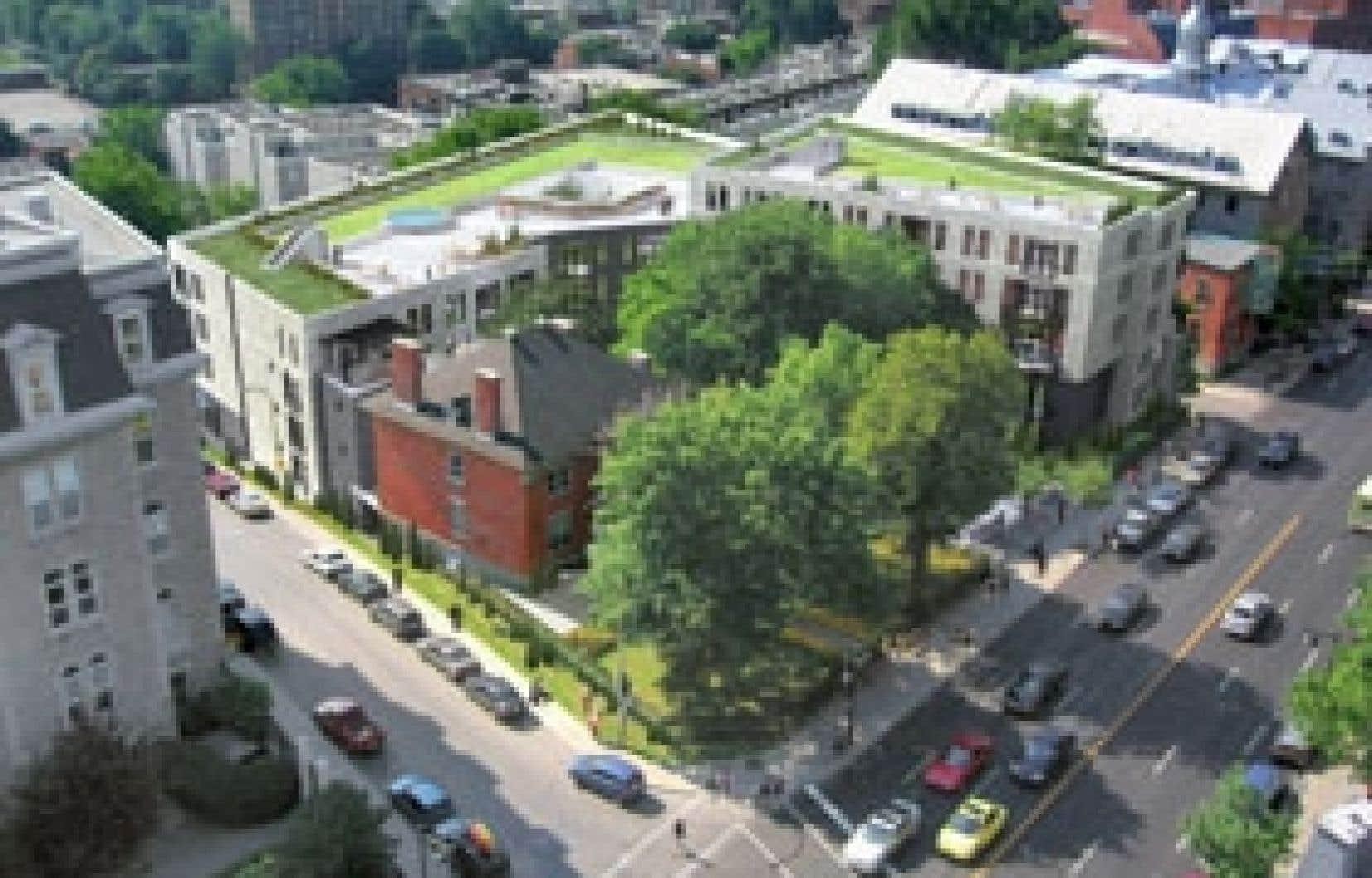 Le projet Montmartre, sur la rue Sherbrooke à Montréal, a été complètement redessiné pour correspondre davantage aux besoins du marché. Source:projet montmartre