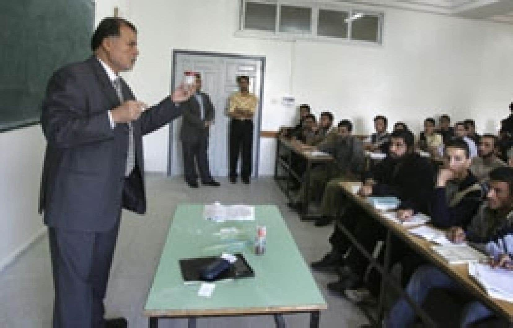 Mohamed Chbaïr était en classe hier pendant que son nom était sur toutes les lèvres.