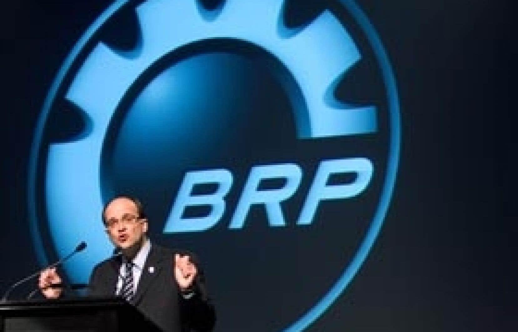 José Boisjoli, président et chef de la direction de BRP. Le fabricant québécois a souligné que cette injection de 130 millions lui permettra de racheter une partie de sa dette.