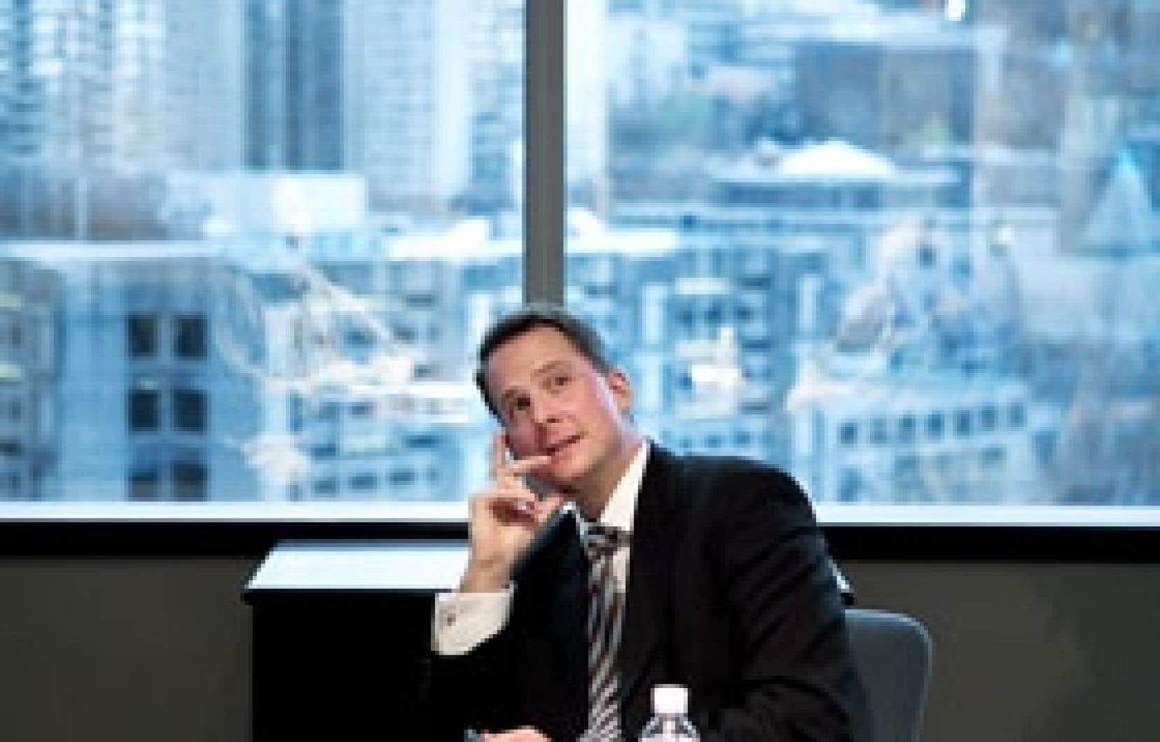 Jean-François Courville, p.-d.g. de la filiale canadienne de State Street, «la plus grosse compagnie dont vous n'avez jamais entendu parler au Canada».