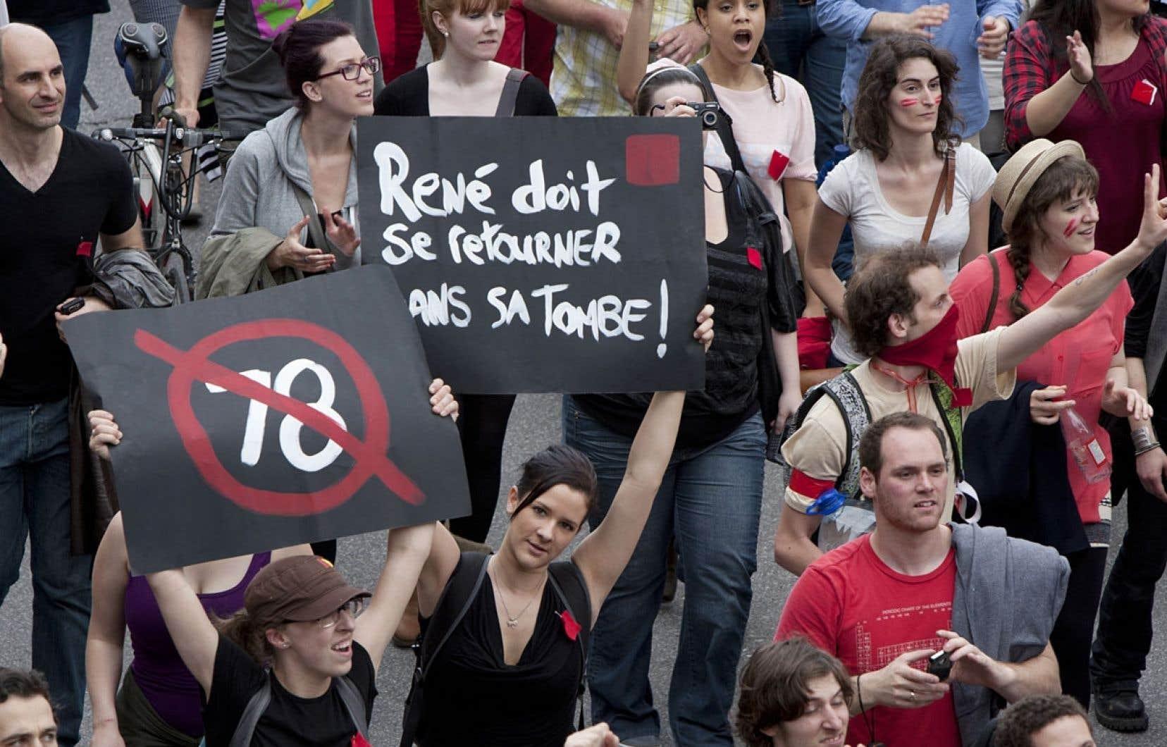 Le printemps 2012 a vu la jeunesse québécoise s'engager publiquement et se mobiliser contre la hausse des droits de scolarité annoncée par le gouvernement Charest.