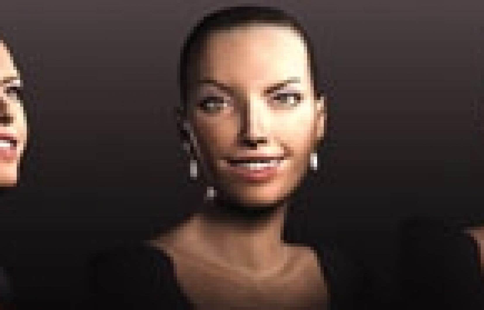 Lena, l'hôtesse virtuelle d'Arcadia, répondra en direct aux questions des festivaliers.