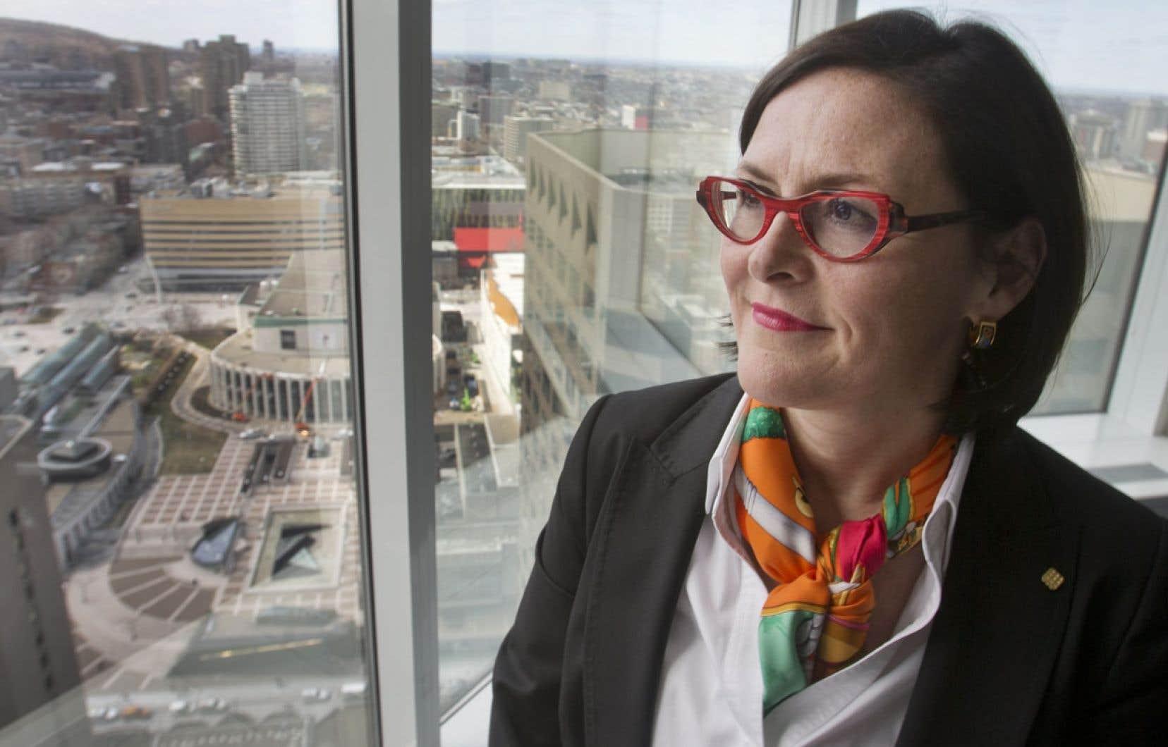La nouvelle présidente de la Fédération des médecins spécialistes du Québec, Diane Francœur.