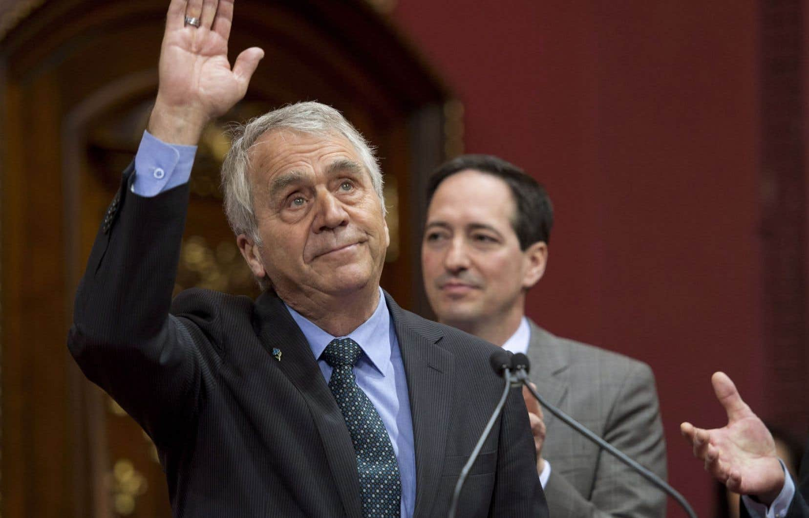 Le doyen de la 41e législature, François Gendron