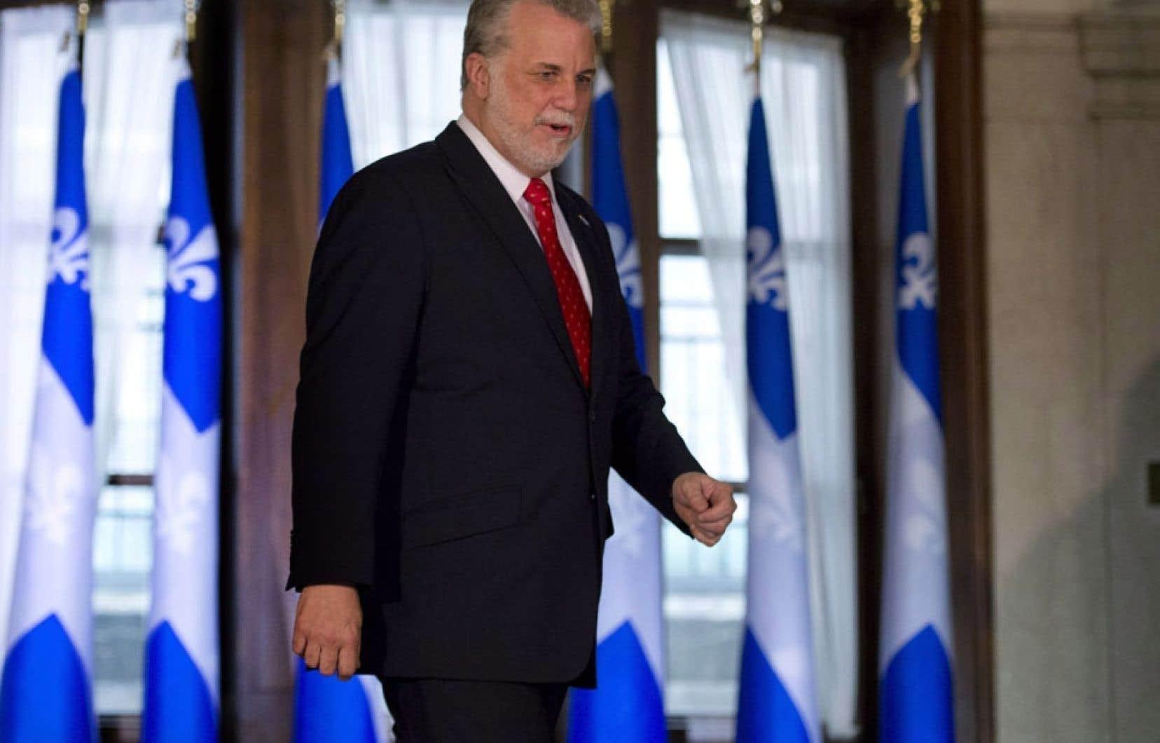 Philippe Couillard s'est empressé de préparer les esprits aux réformes qu'il veut faire.