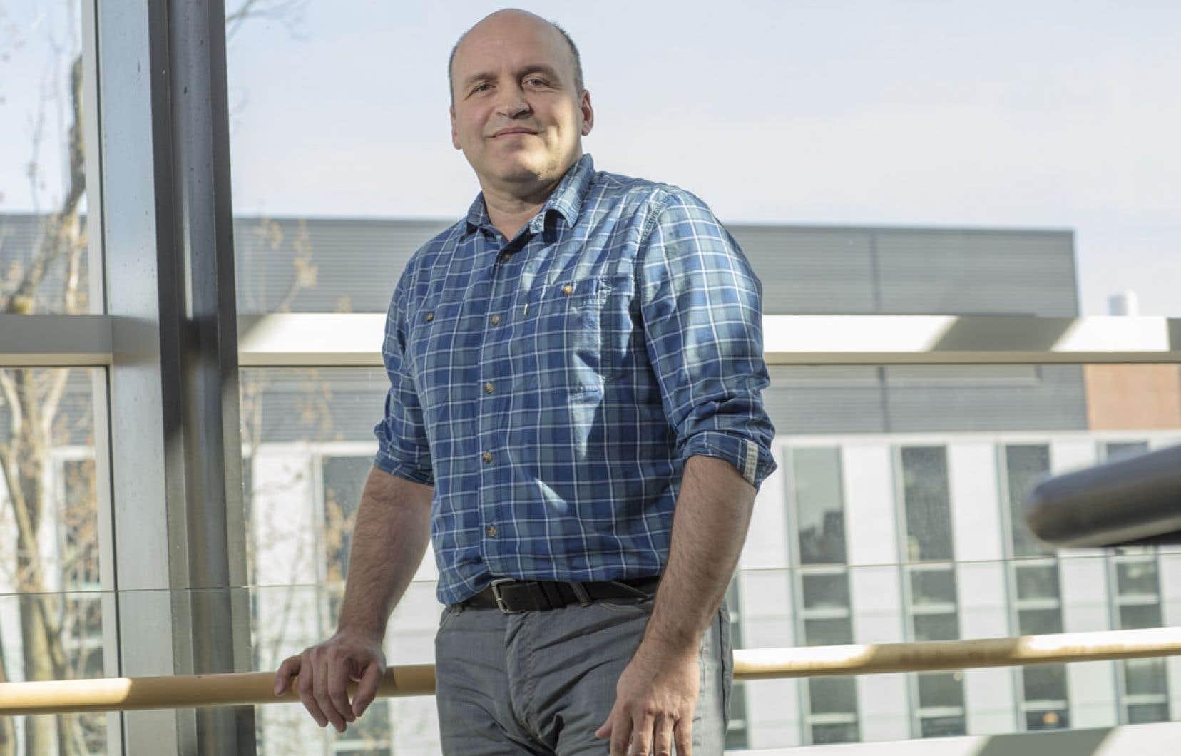 Yves Gélinas, professeur au Département de chimie et de biochimie de l'Université Condordia.