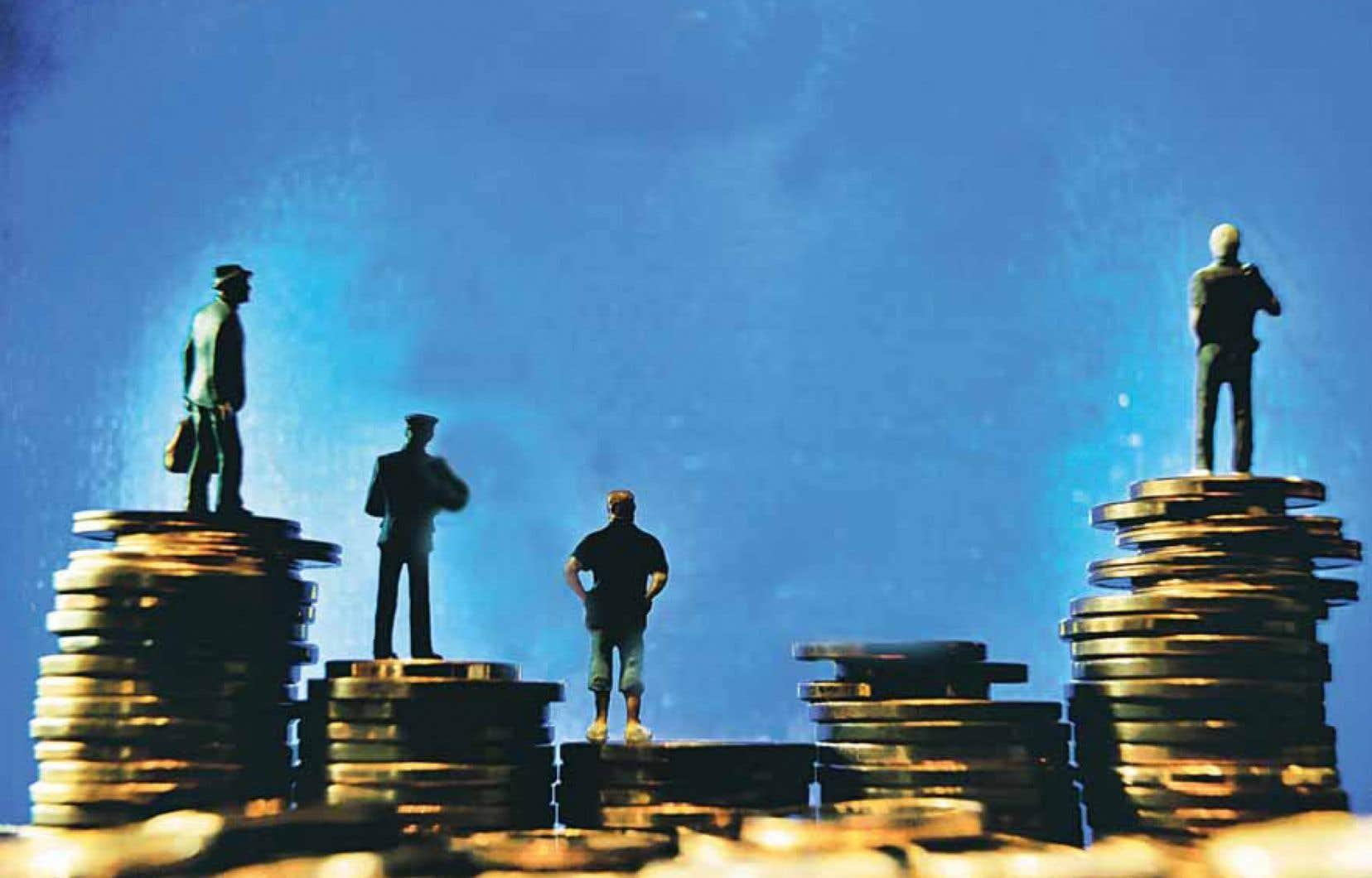 Le fameux 1 % des plus riches s'est approprié 37 % de la création de richesse au Canada de 1975 à la Grande Récession de 2008, rapporte l'Organisation de coopération et de développement économiques.