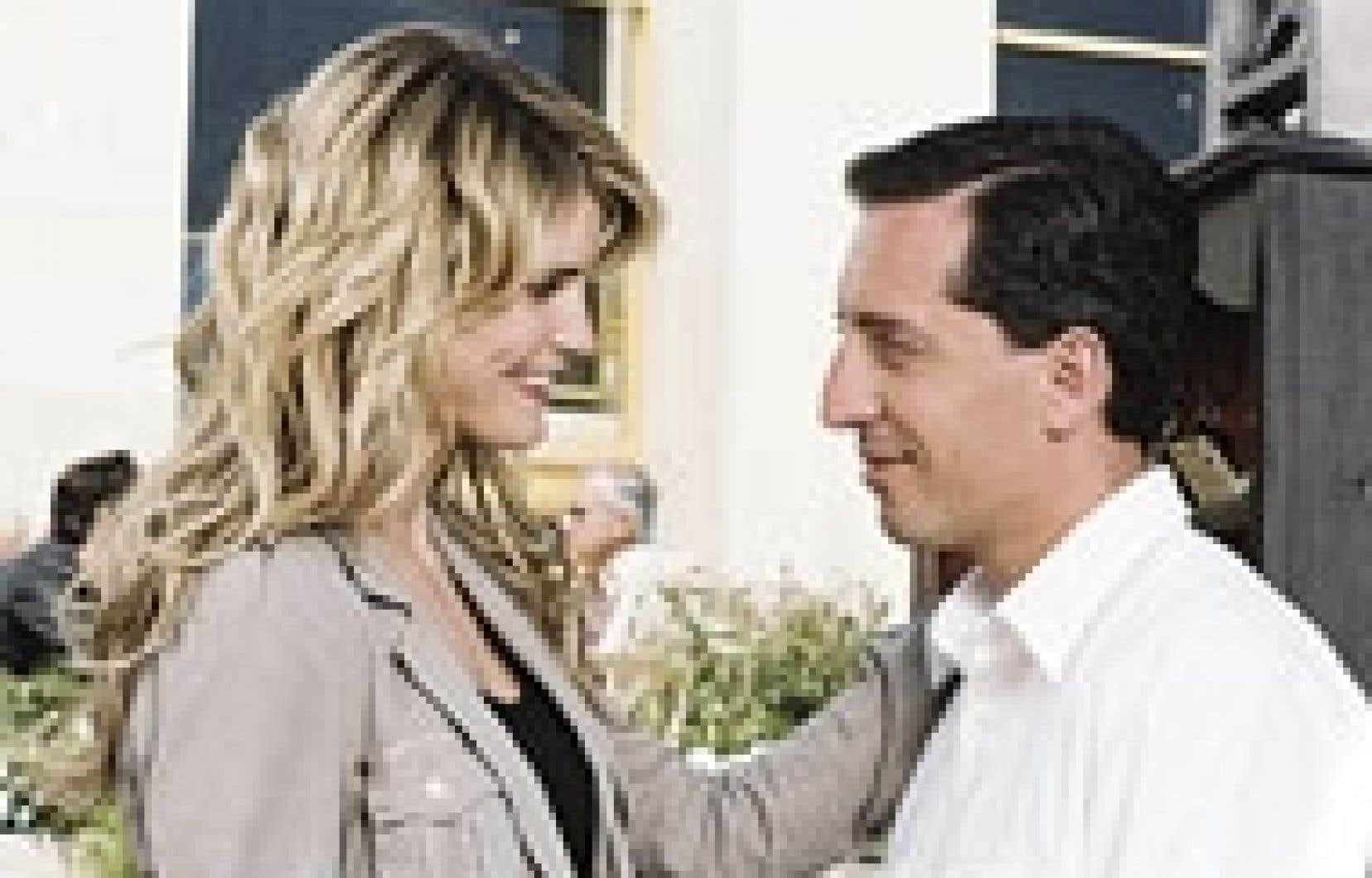 Alice Taglioni et Gad Elmaleh dans La Doublure de Francis Veber. Source: Chrystal films